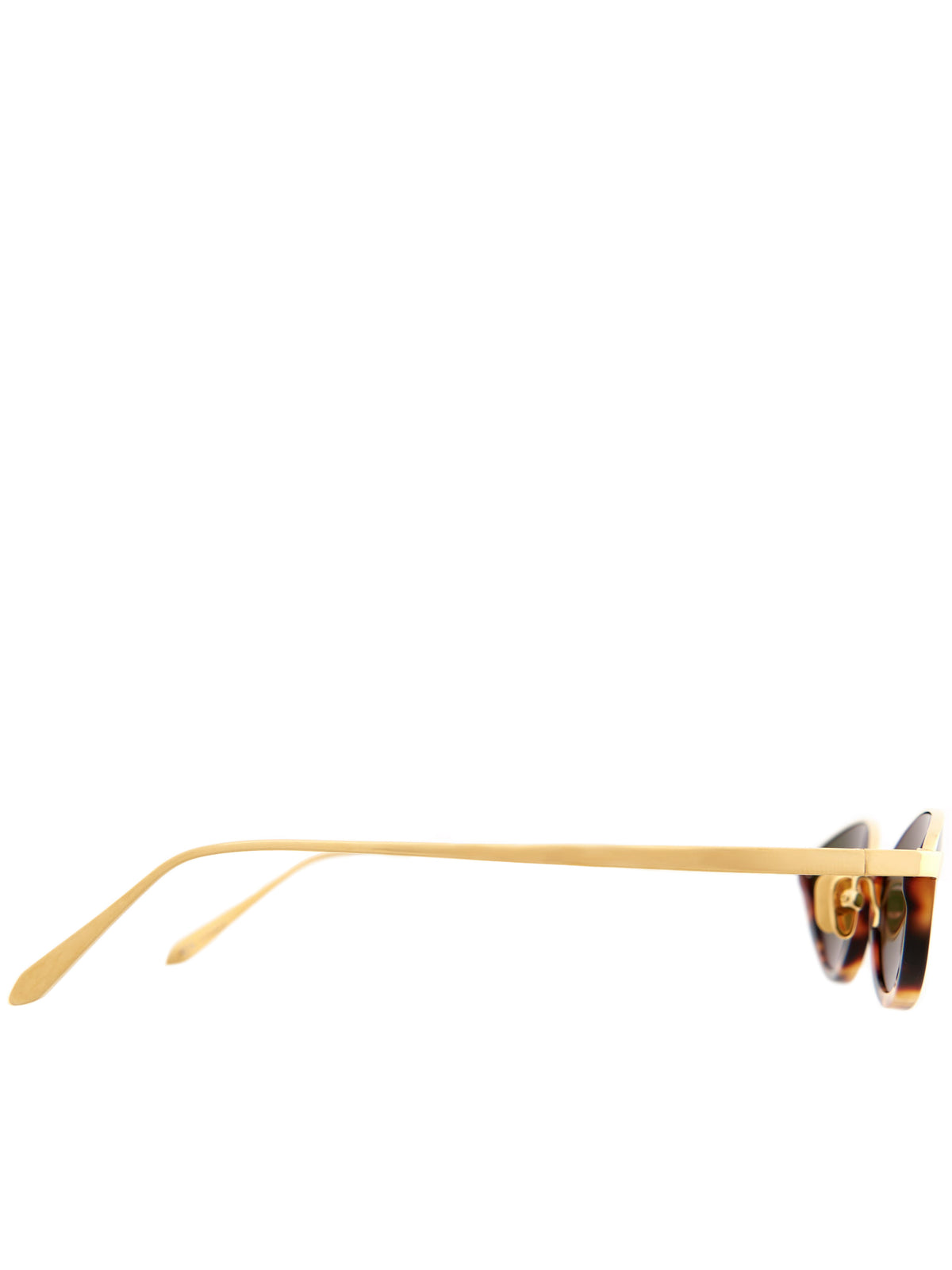 Half-Frame Sunglasses (LFL967C2SUN-GOLD-GREEN)