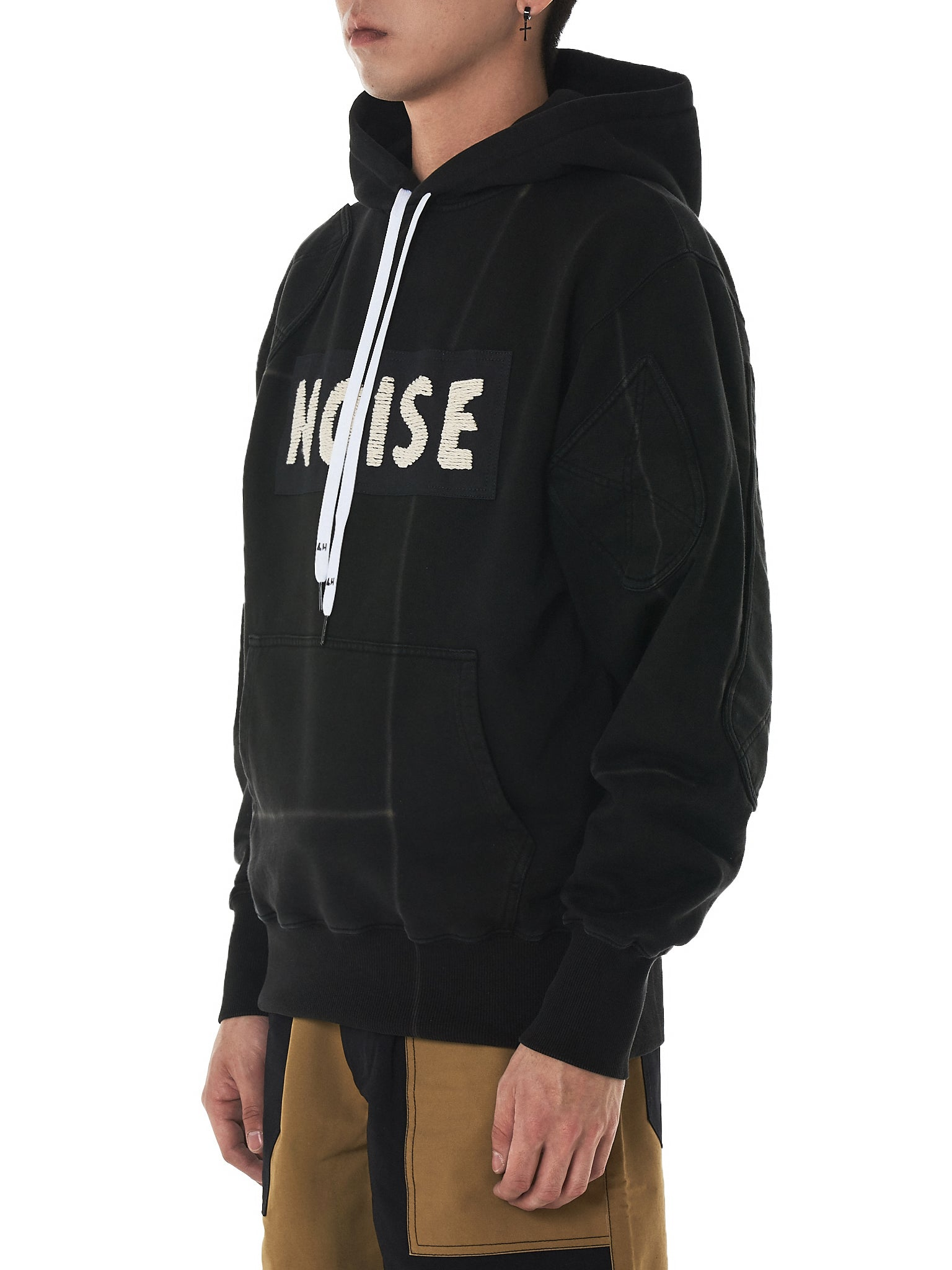 Liam Hodges Hooded Pullover - Hlorenzo Side