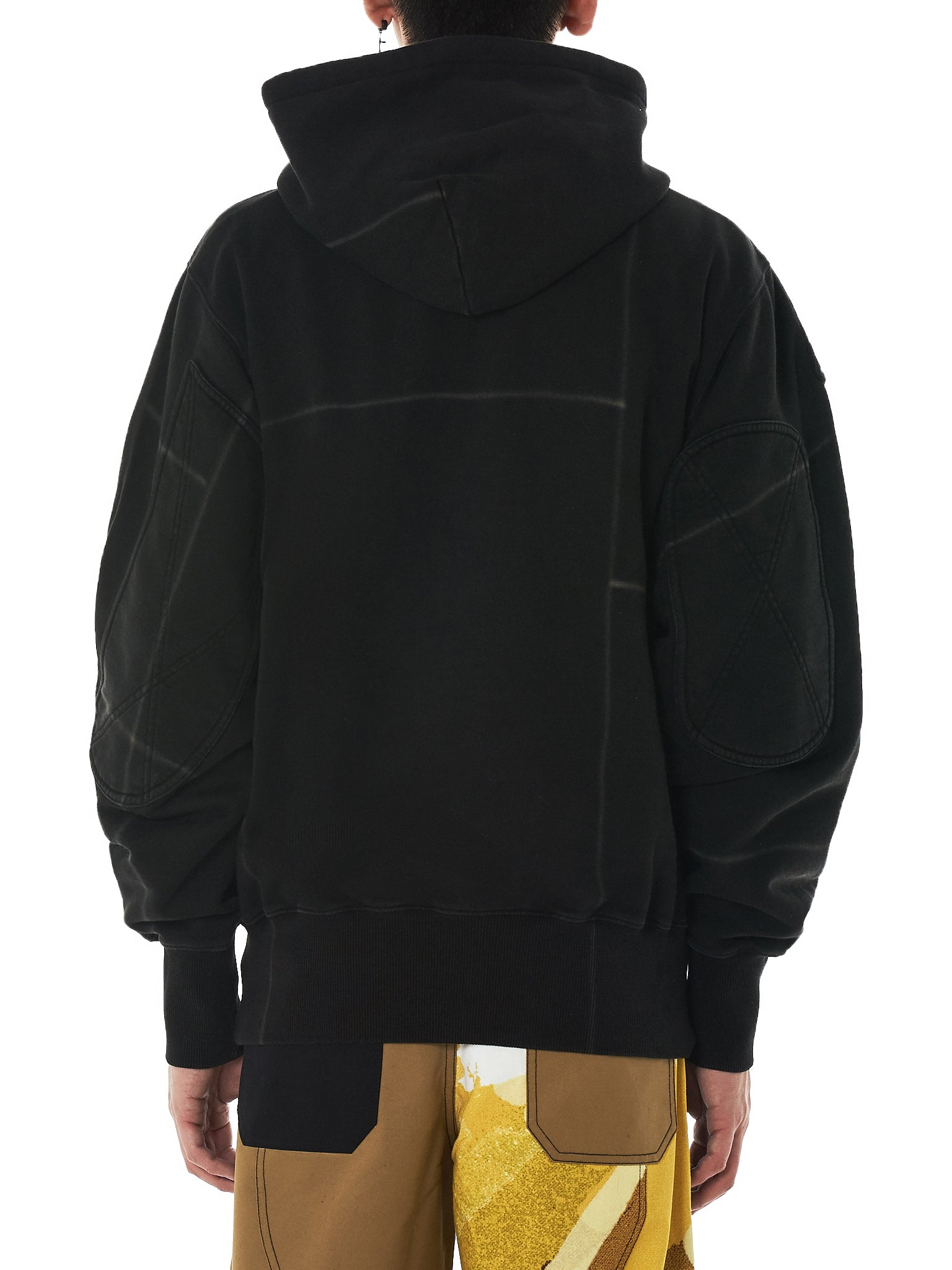 Liam Hodges Hooded Pullover - Hlorenzo Back