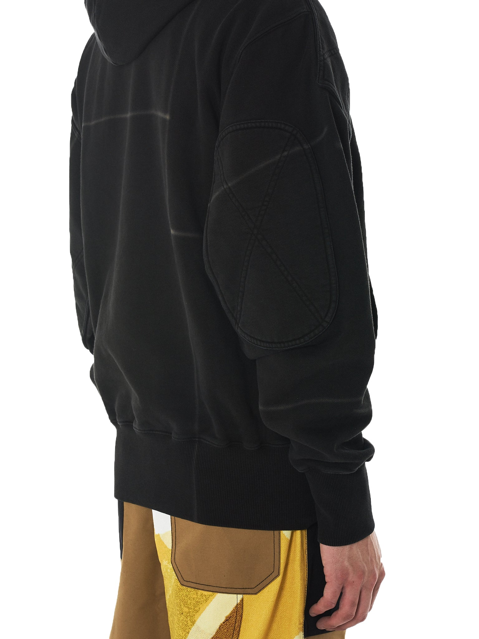 Liam Hodges Hooded Pullover - Hlorenzo Detail 1