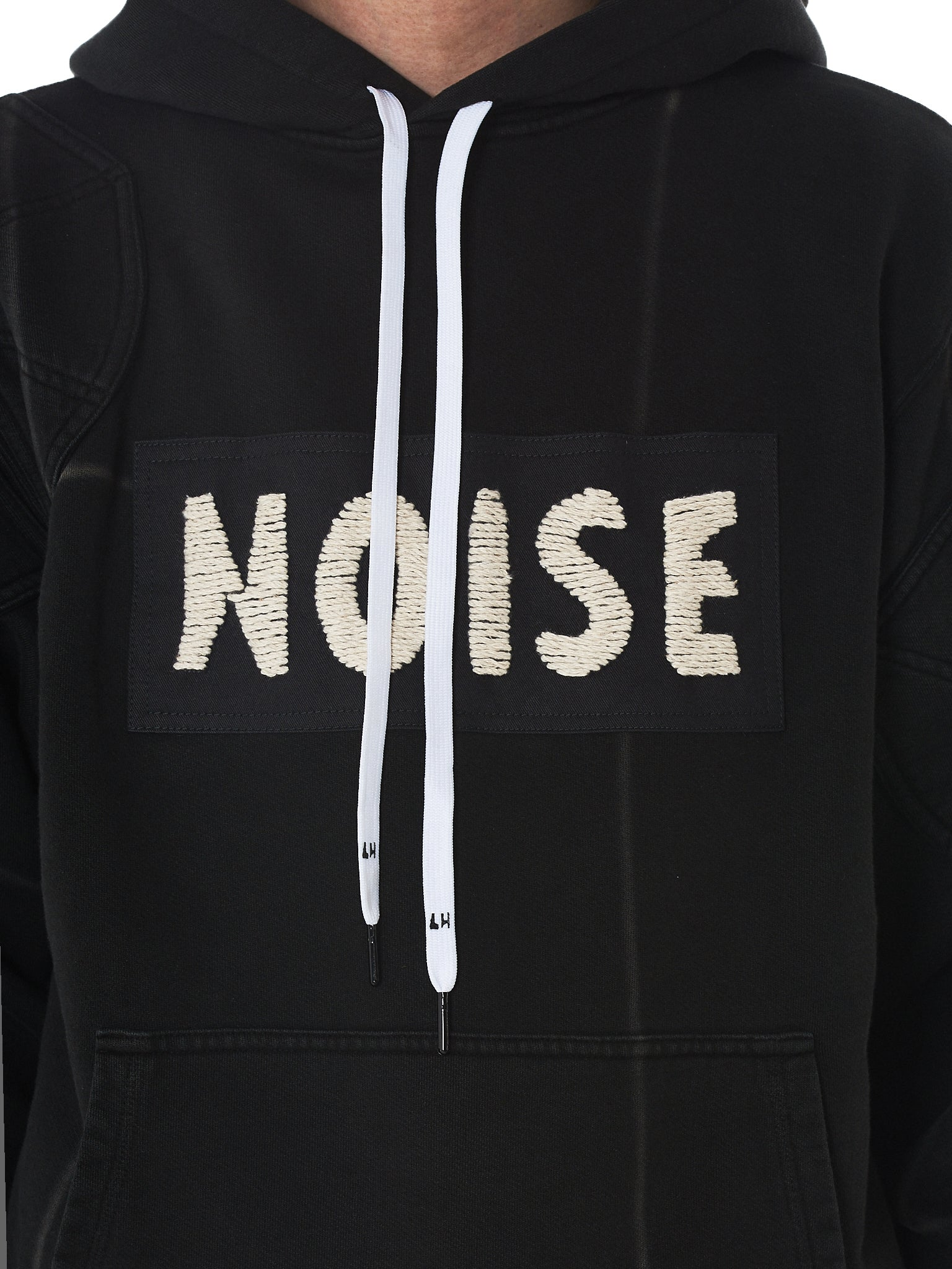 Liam Hodges Hooded Pullover - Hlorenzo Detail 2