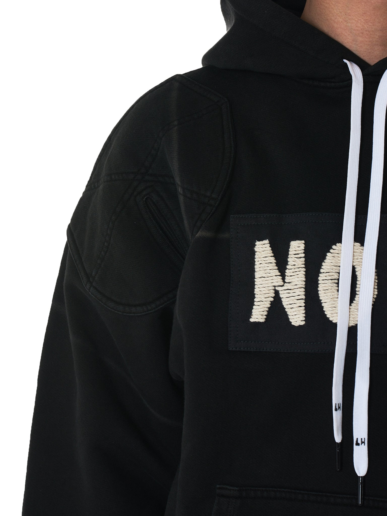 Liam Hodges Hooded Pullover - Hlorenzo Detail 3