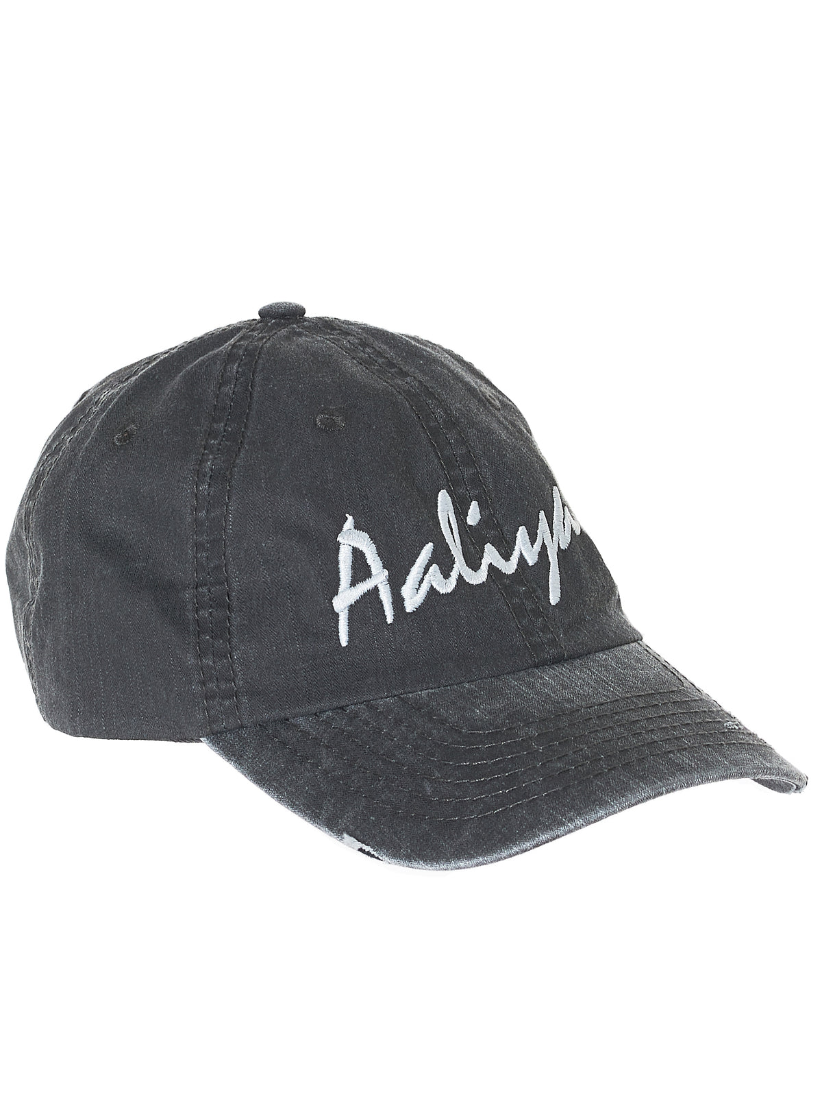 Lights Out Baseball Cap (LIGHTS-OUT-AALIYAH-CHARCOAL)
