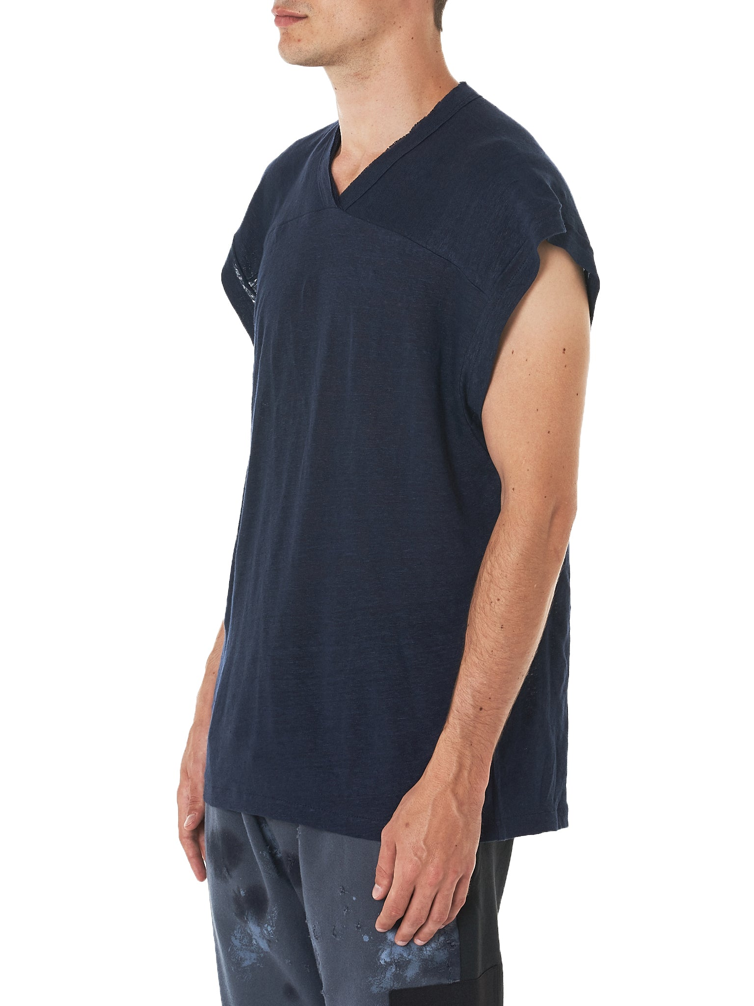 Relaxed Tank (LJS1802-MIDNIGHT-BLUE)