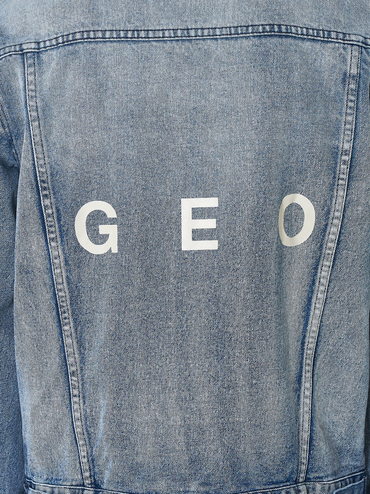 Geo Denim Jacket - Hlorenzo Detail 2