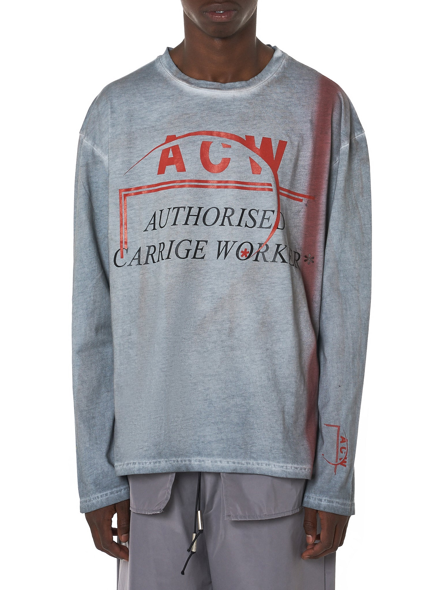 A Cold Wall ACW Tee - Hlorenzo Front