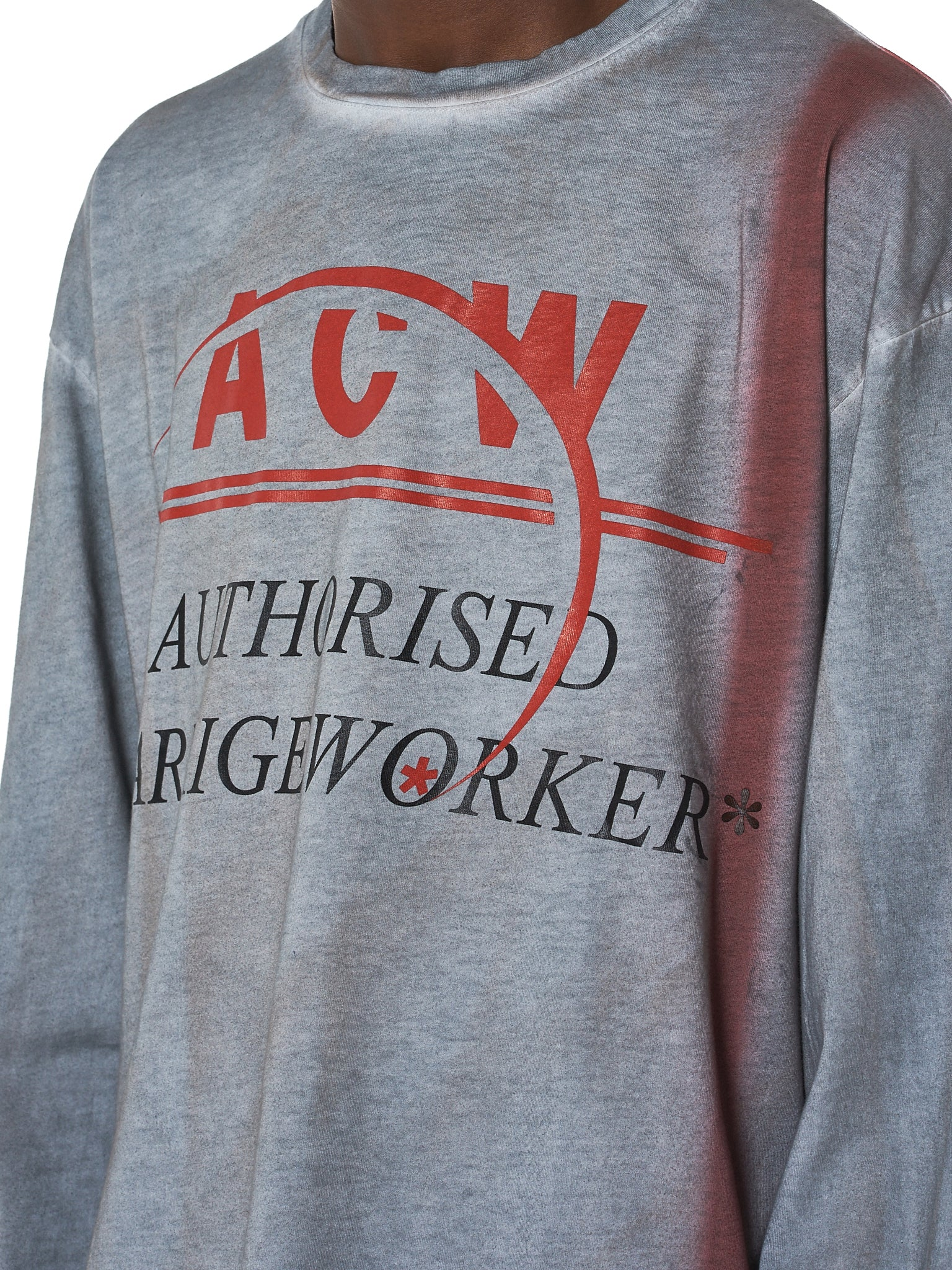 A Cold Wall ACW Tee - Hlorenzo Detail 2