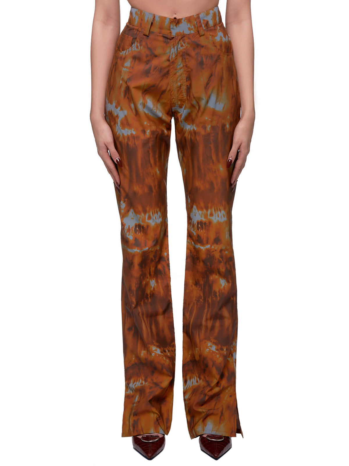 Lyonesse Trousers (LYONESSE-ORANGE-FLAMES)