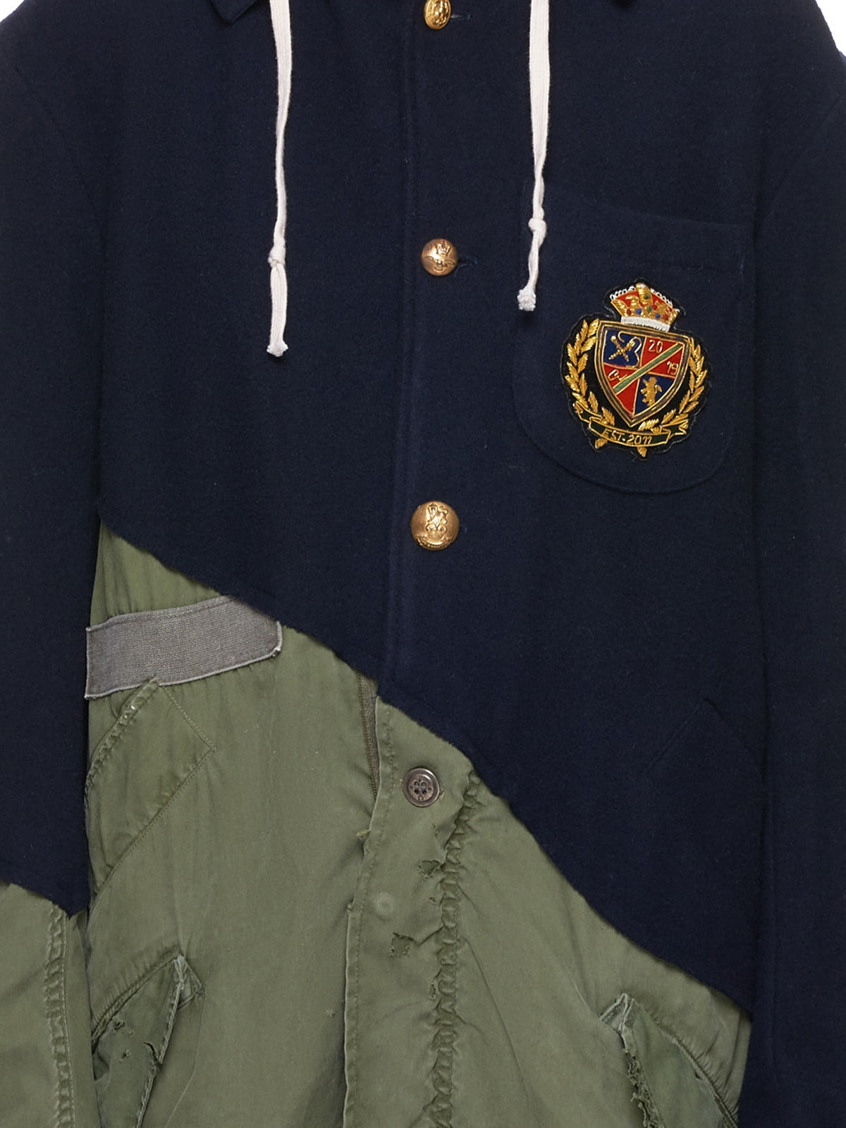 Army Jacket (M034-W-NAVY-ARMY)