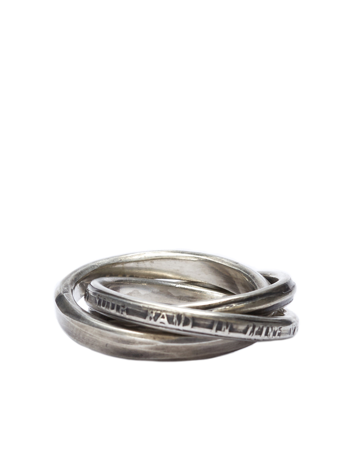 Interlooped Rings (M1414-SILVER)