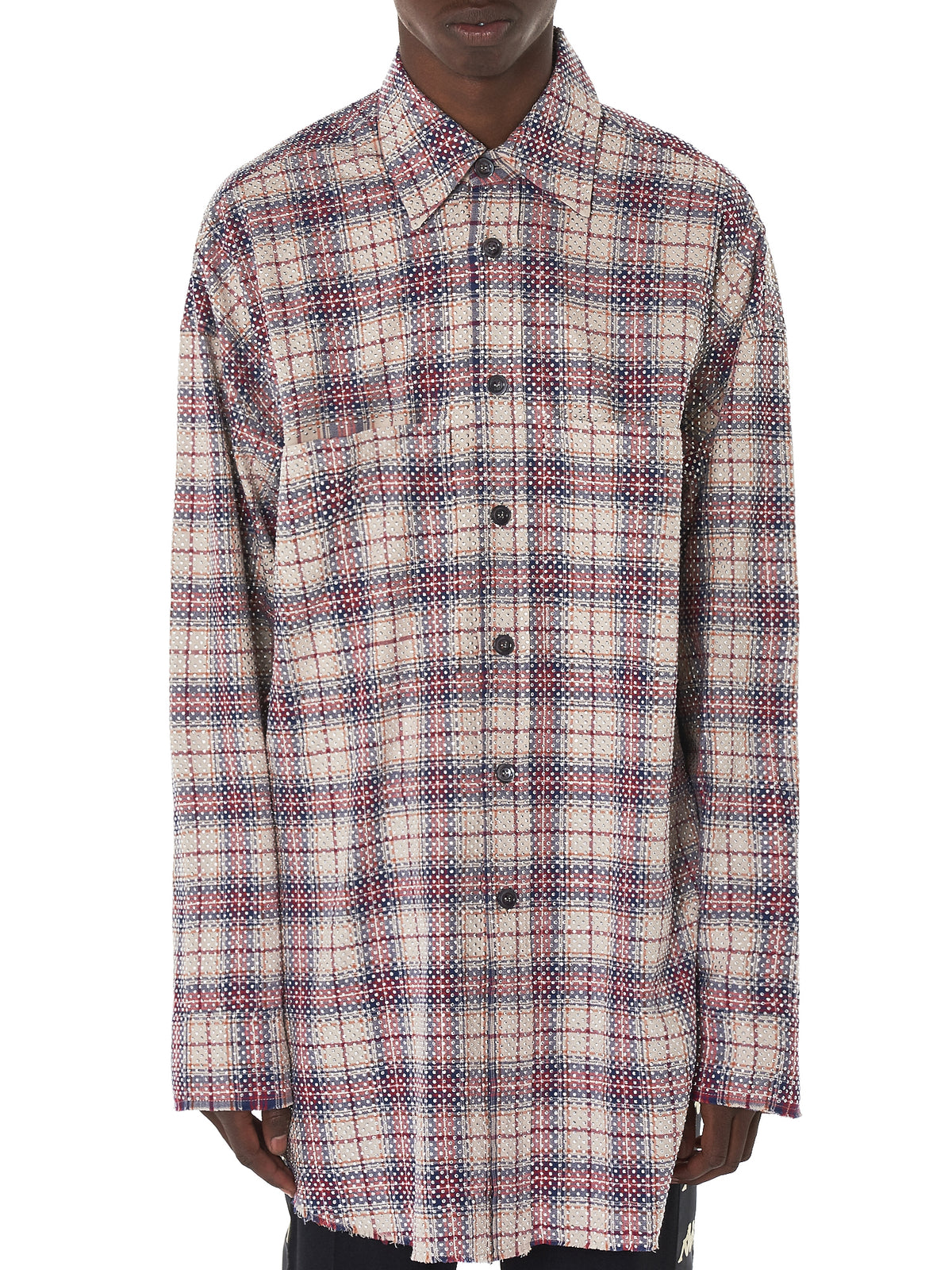 Faith Connexion Flannel Shirt - Hlorenzo Front