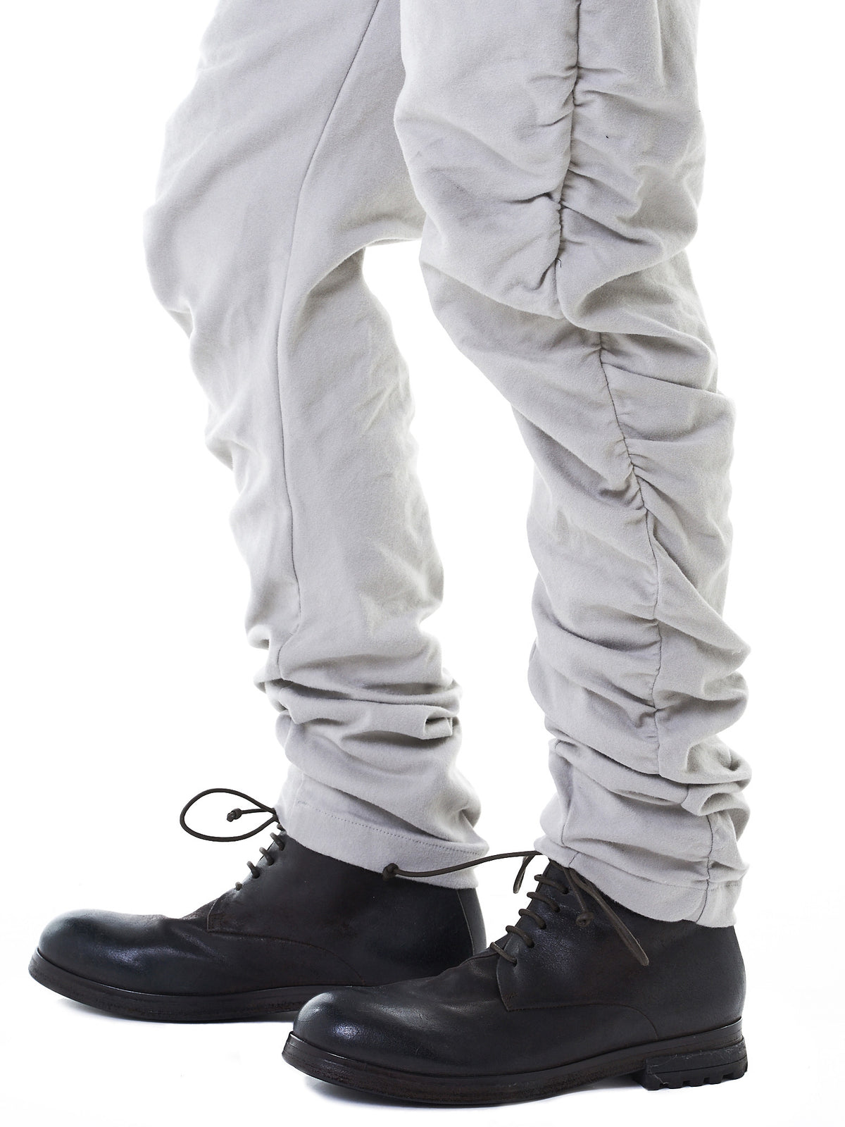 Gathered Track Pants (M21-570-636-DUST) - H. Lorenzo