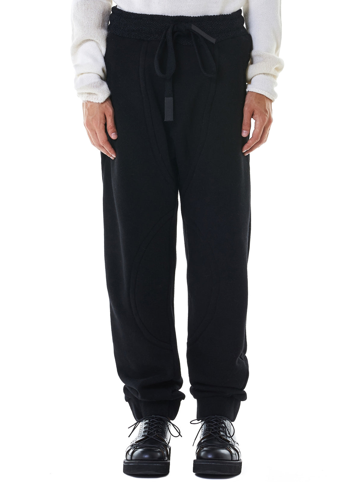 Relaxed Track Pants (M21-573-640-BLACK-BLACK)
