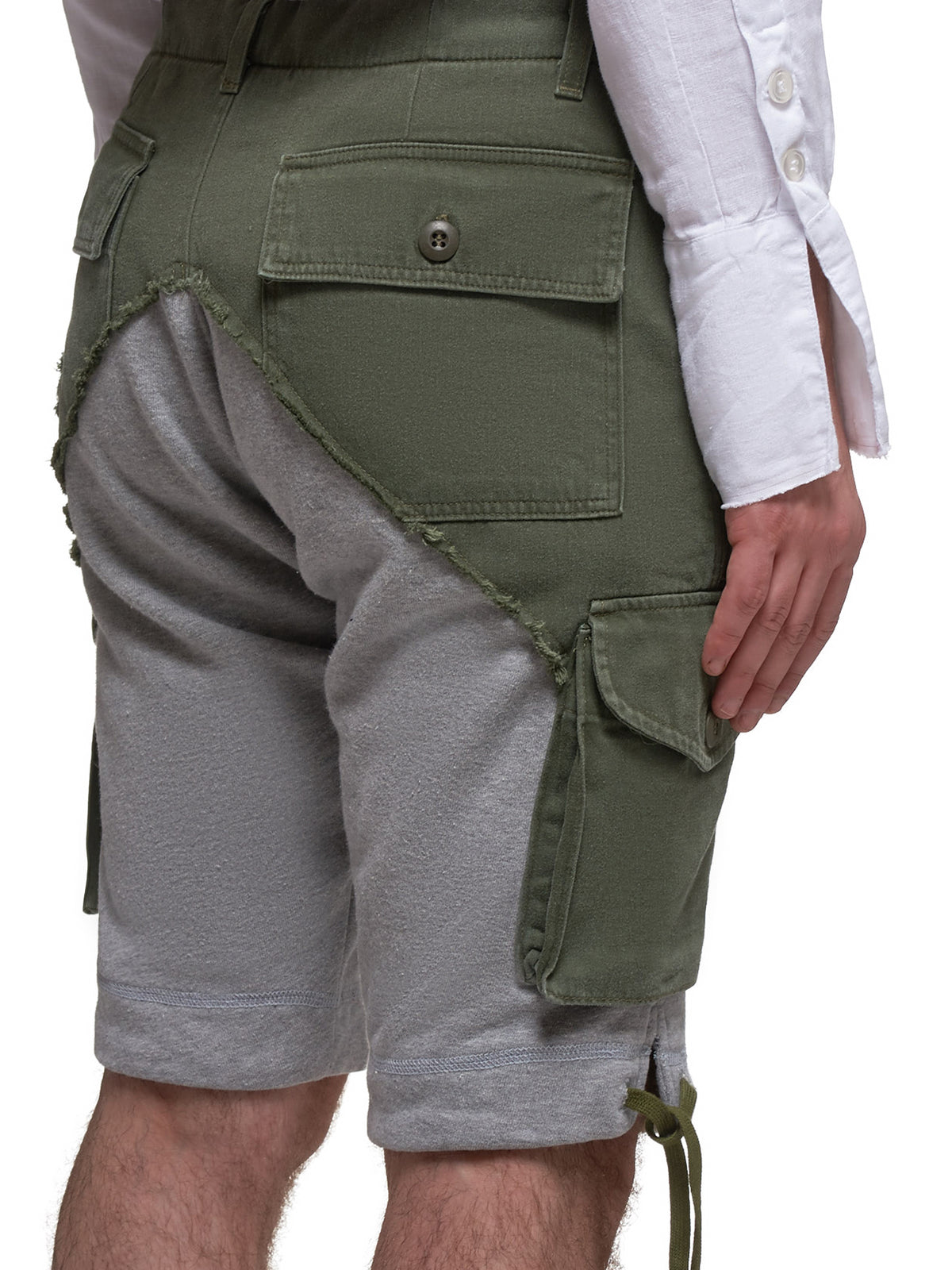 Cargo Shorts (M224-ARMY-GRAY)