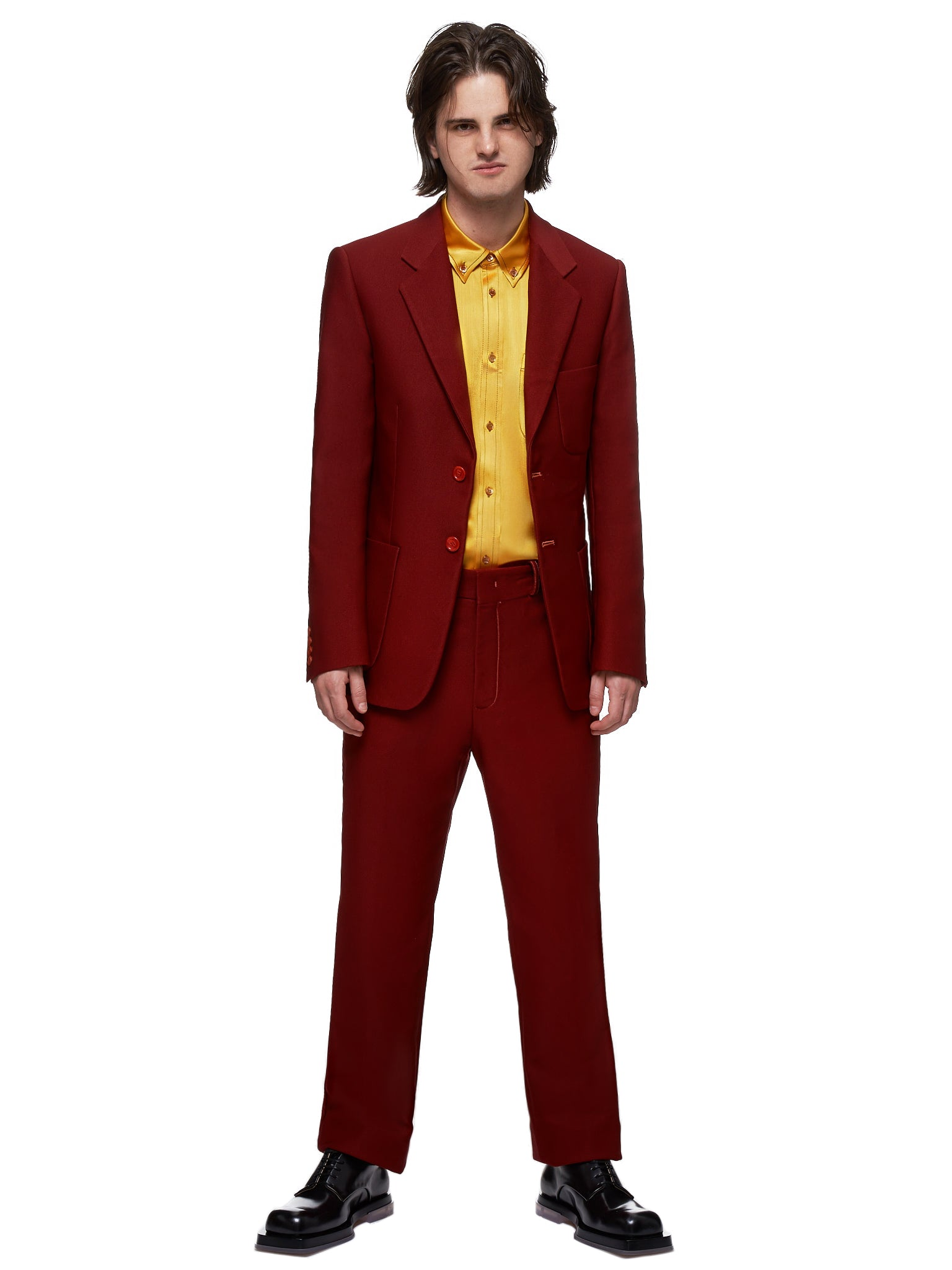 Toby Technical Twill Trousers (M7SY601-BURGUNDY)