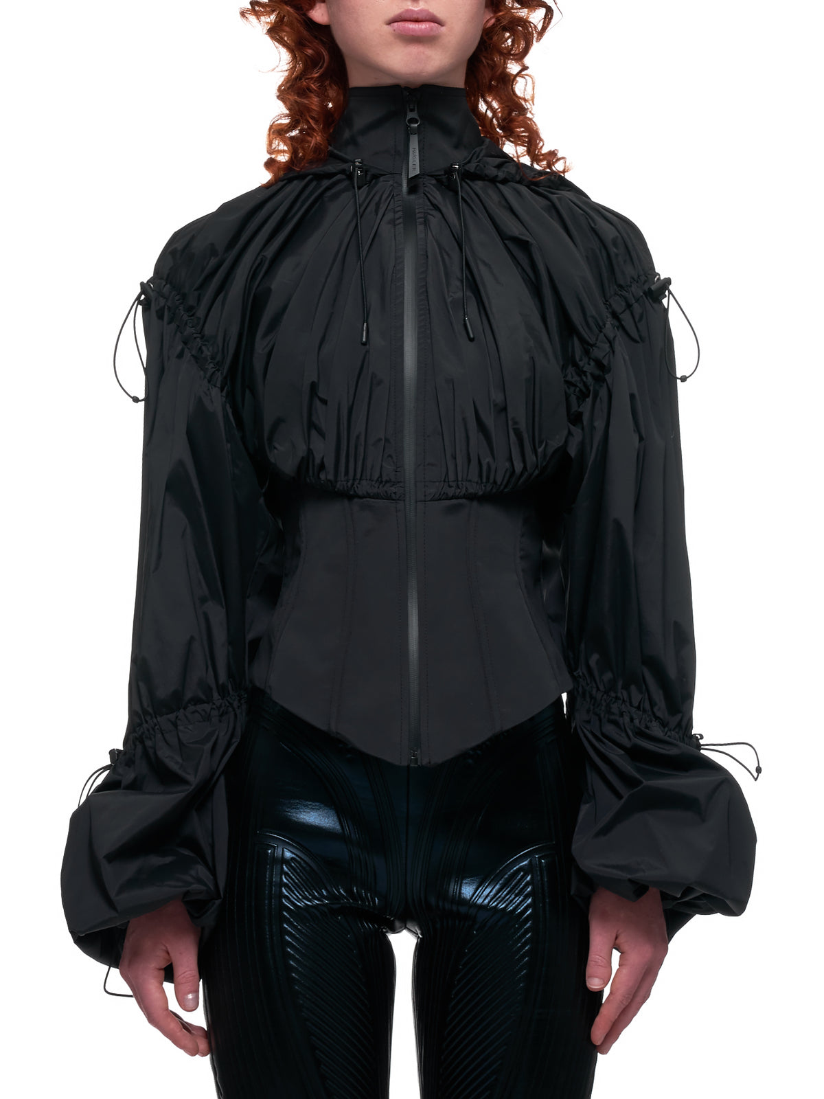 Corset Cycling Jacket (MA0127-BLACK)