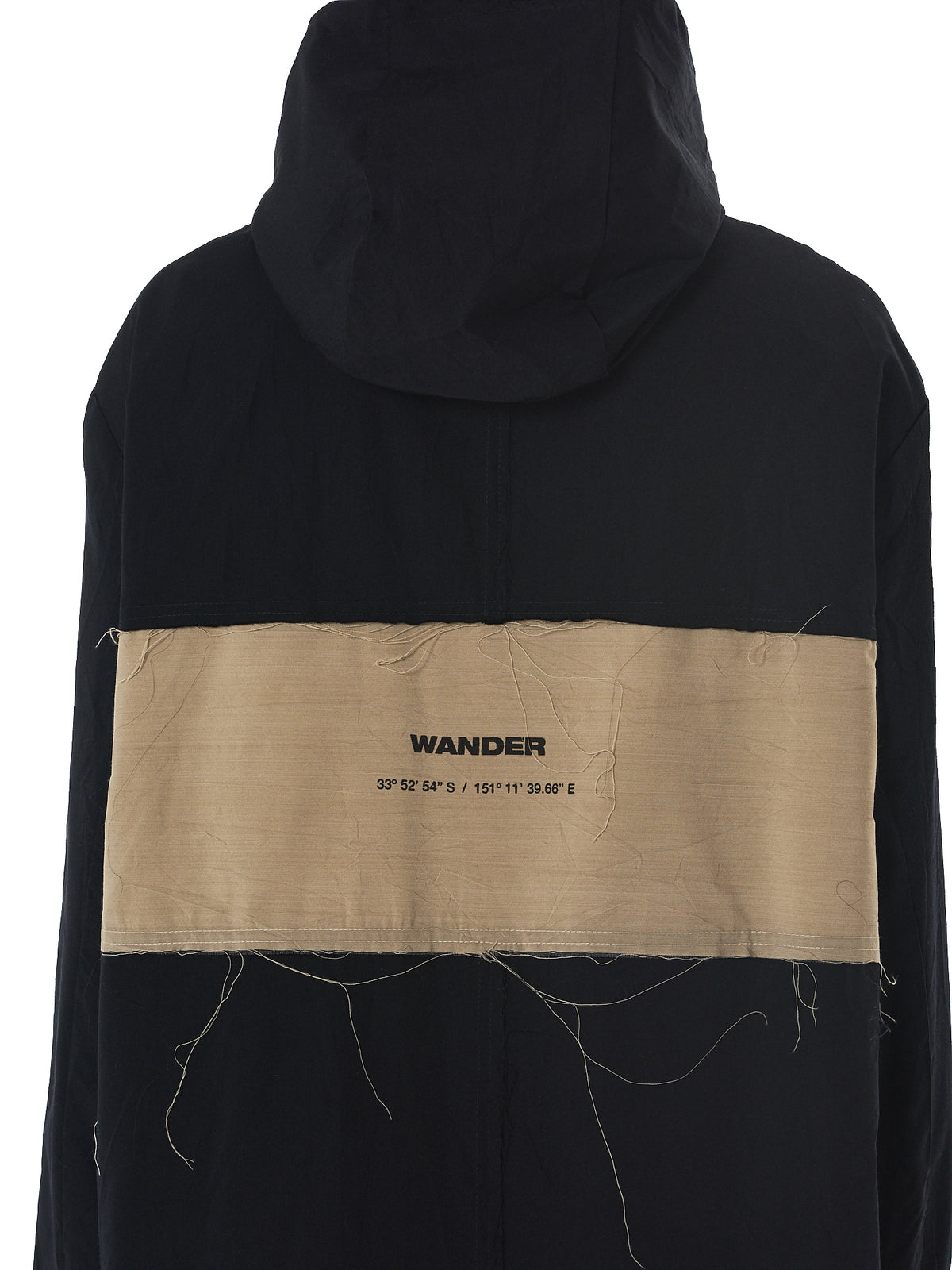 Song For The Mute 'Wander' Parka - Hlorenzo Detail 2