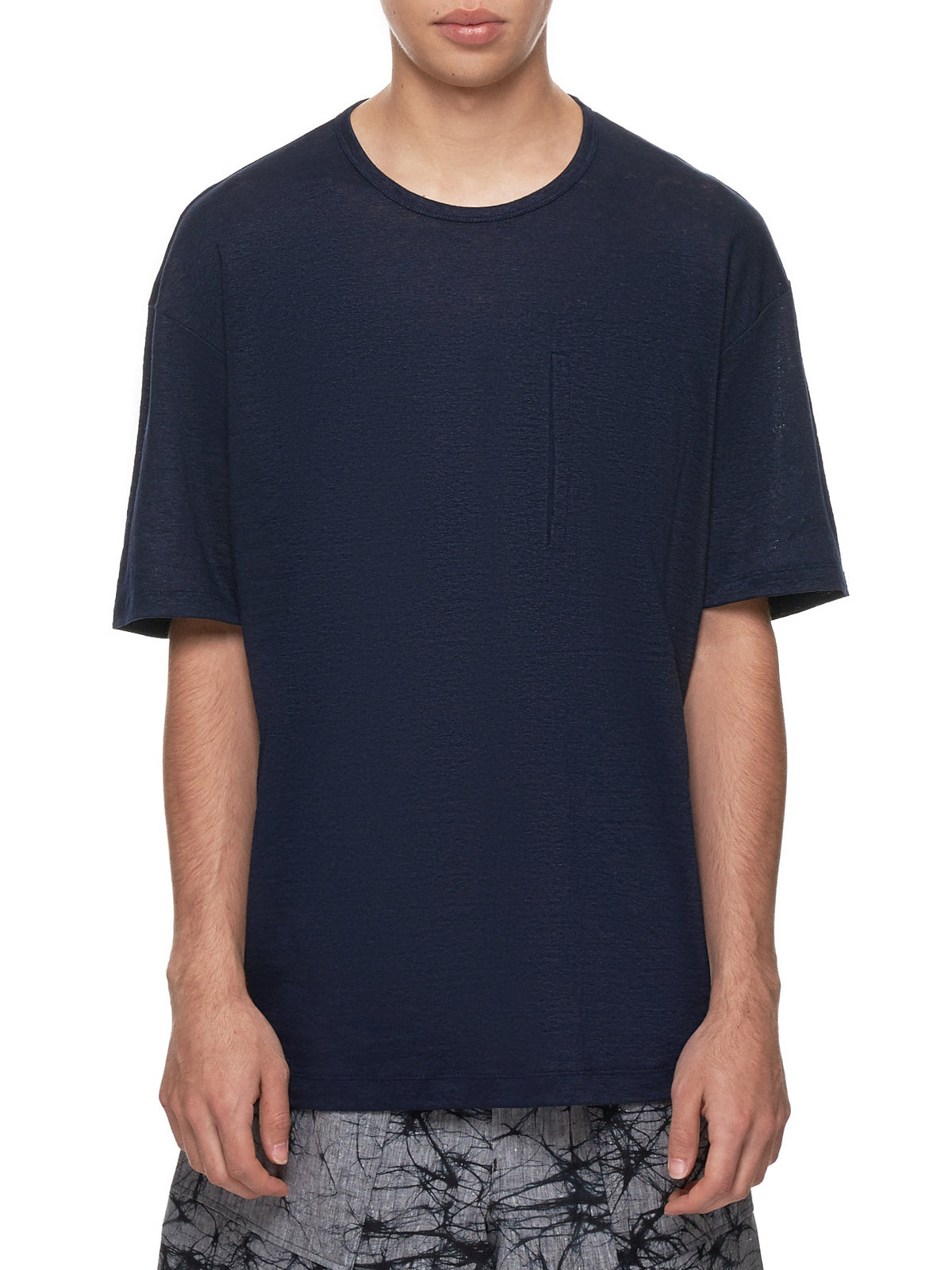 Pocketed T-Shirt (ME96JK136-NAVY)