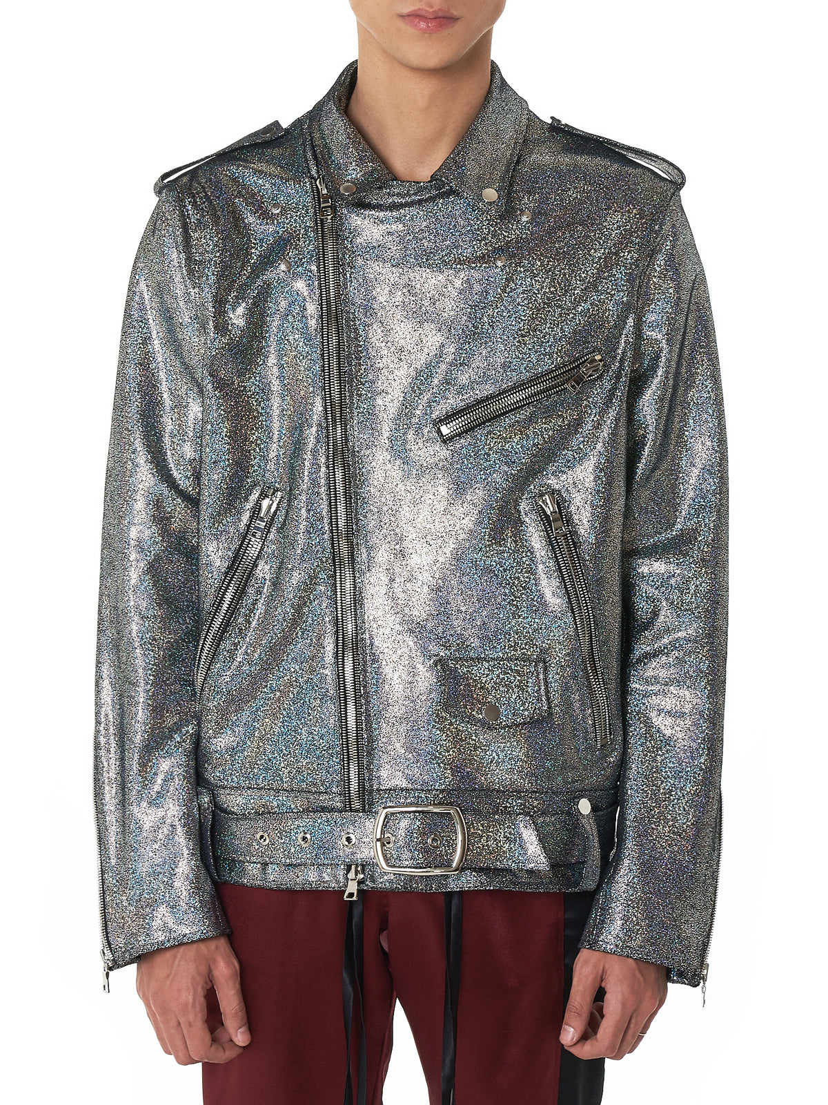 Nahmias Metallic Jacket - Hlorenzo Front