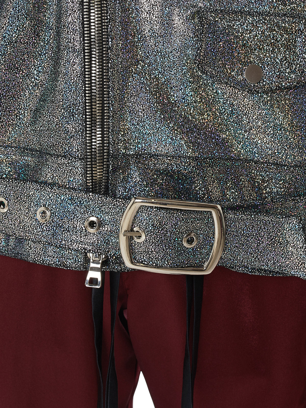 Nahmias Metallic Jacket - Hlorenzo Detail 2