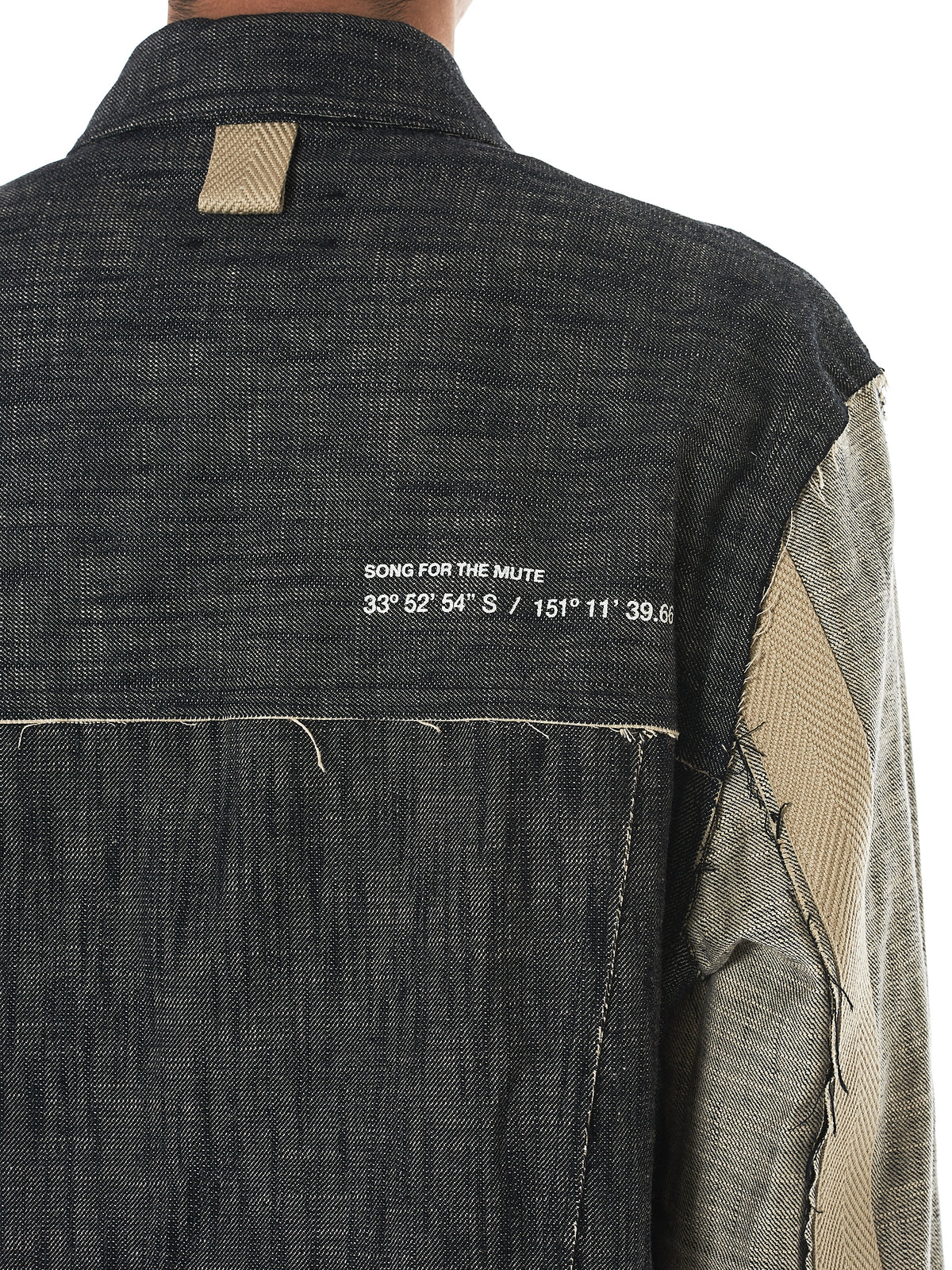Song For The Mute 'Wander' Jacket - Hlorenzo Detail 2