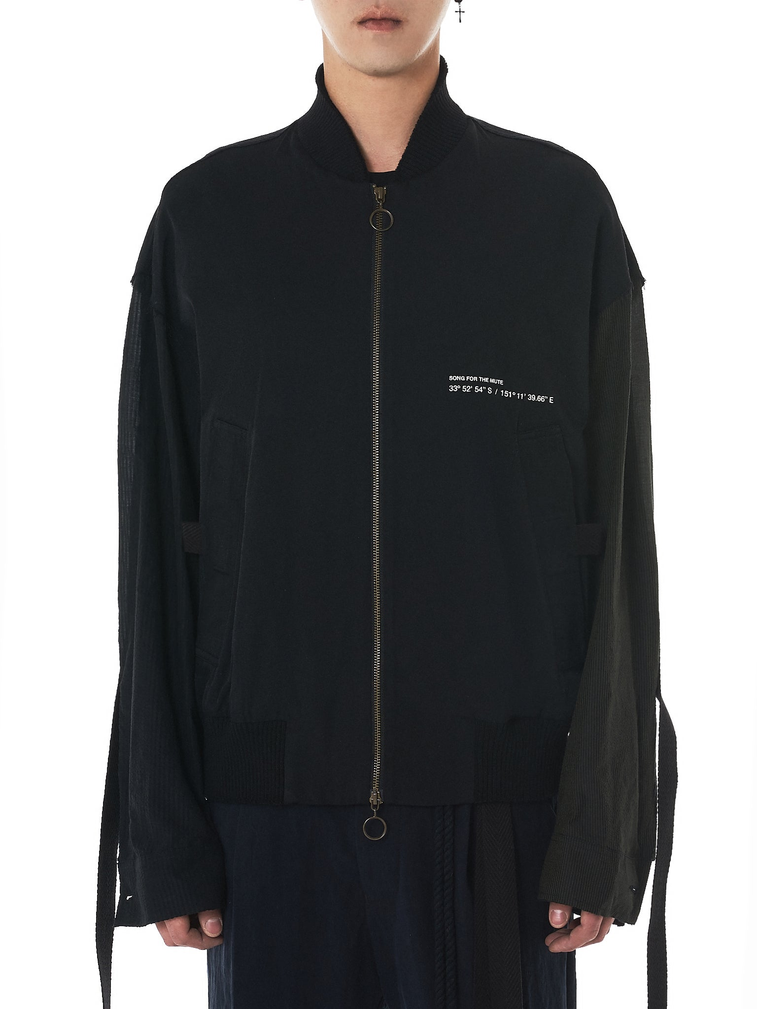 Song For The Mute Bomber Jacket - Hlorenzo Front