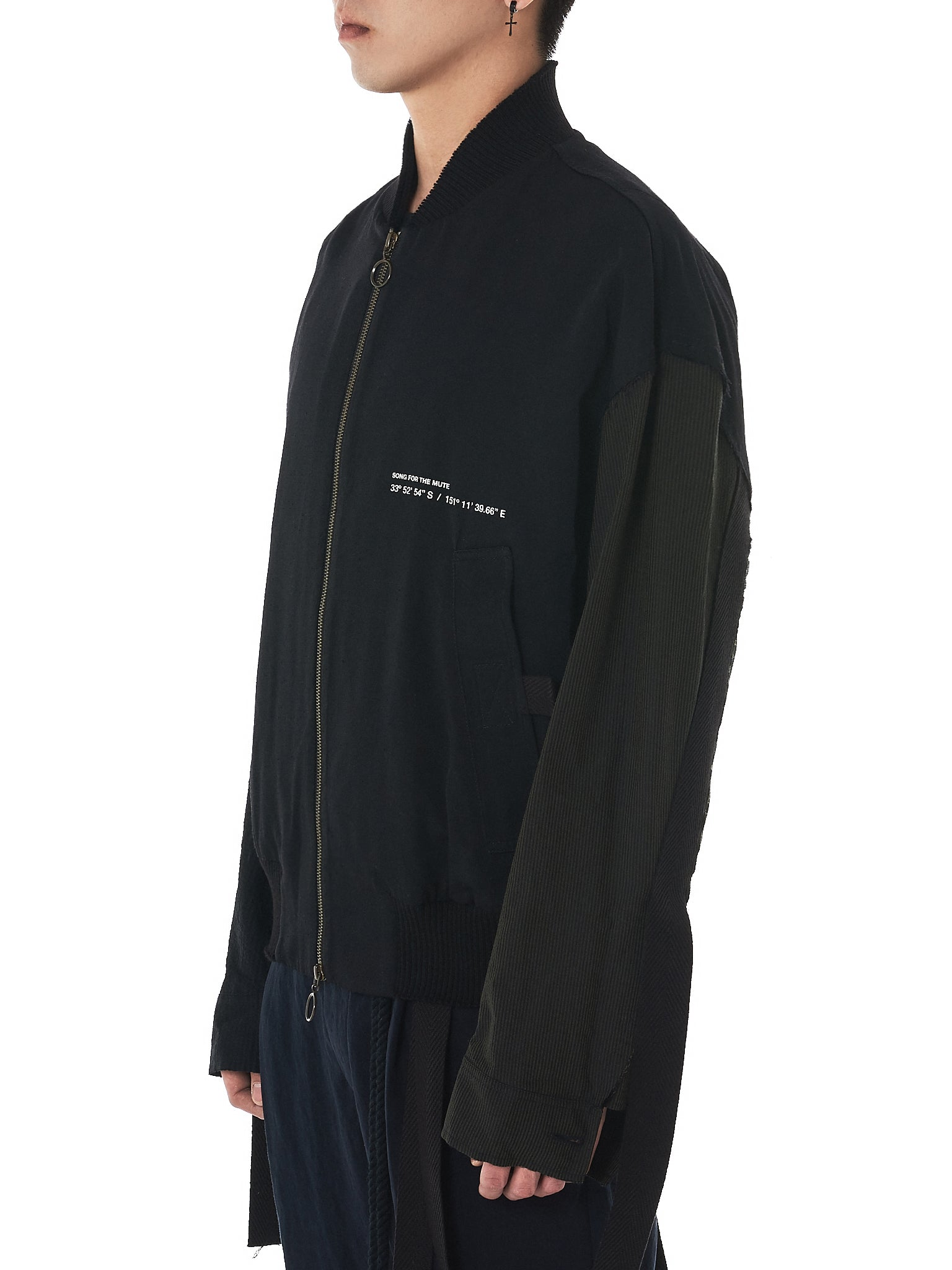 Song For The Mute Bomber Jacket - Hlorenzo Side