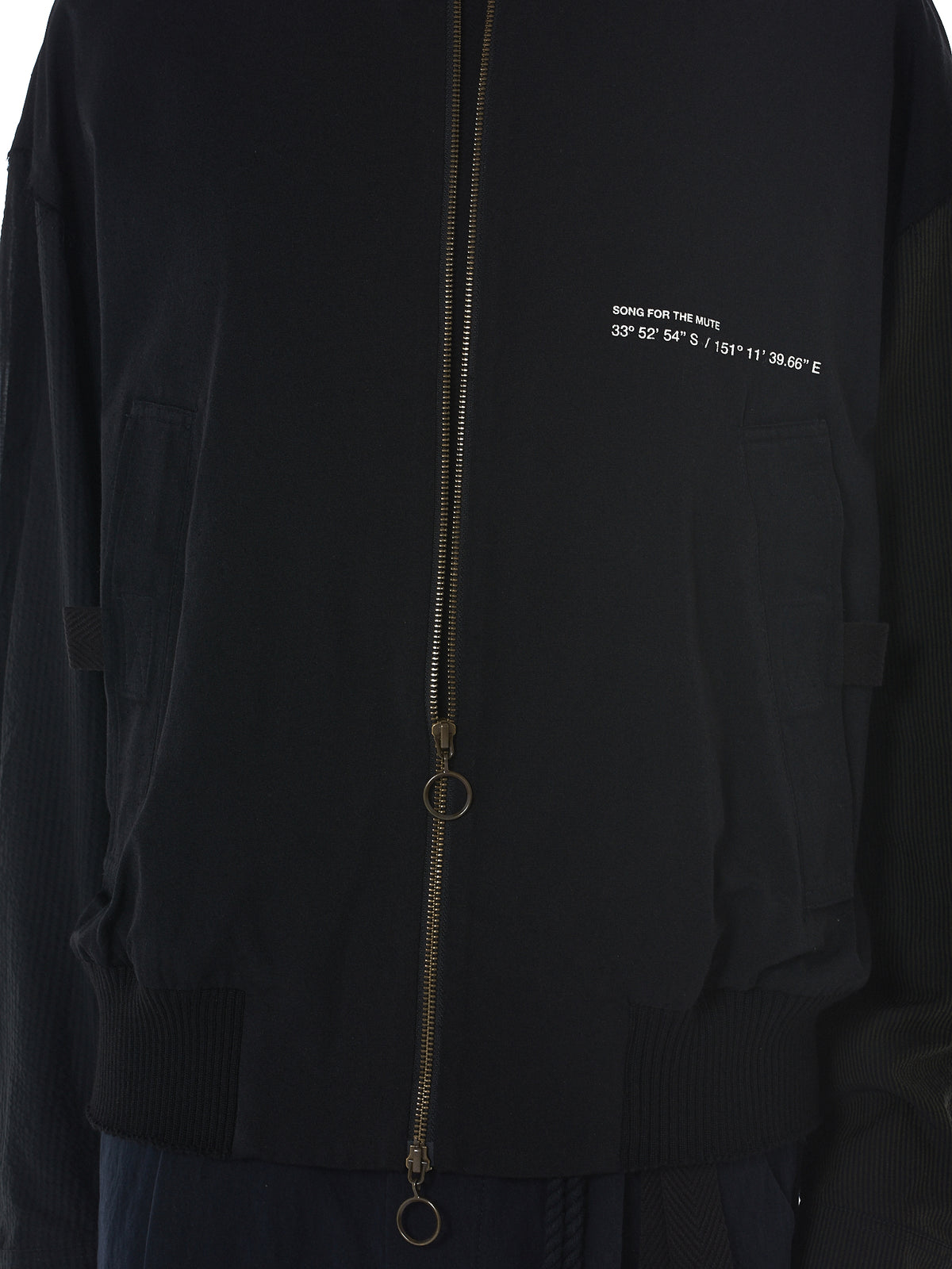 Song For The Mute Bomber Jacket - Hlorenzo Detail 2