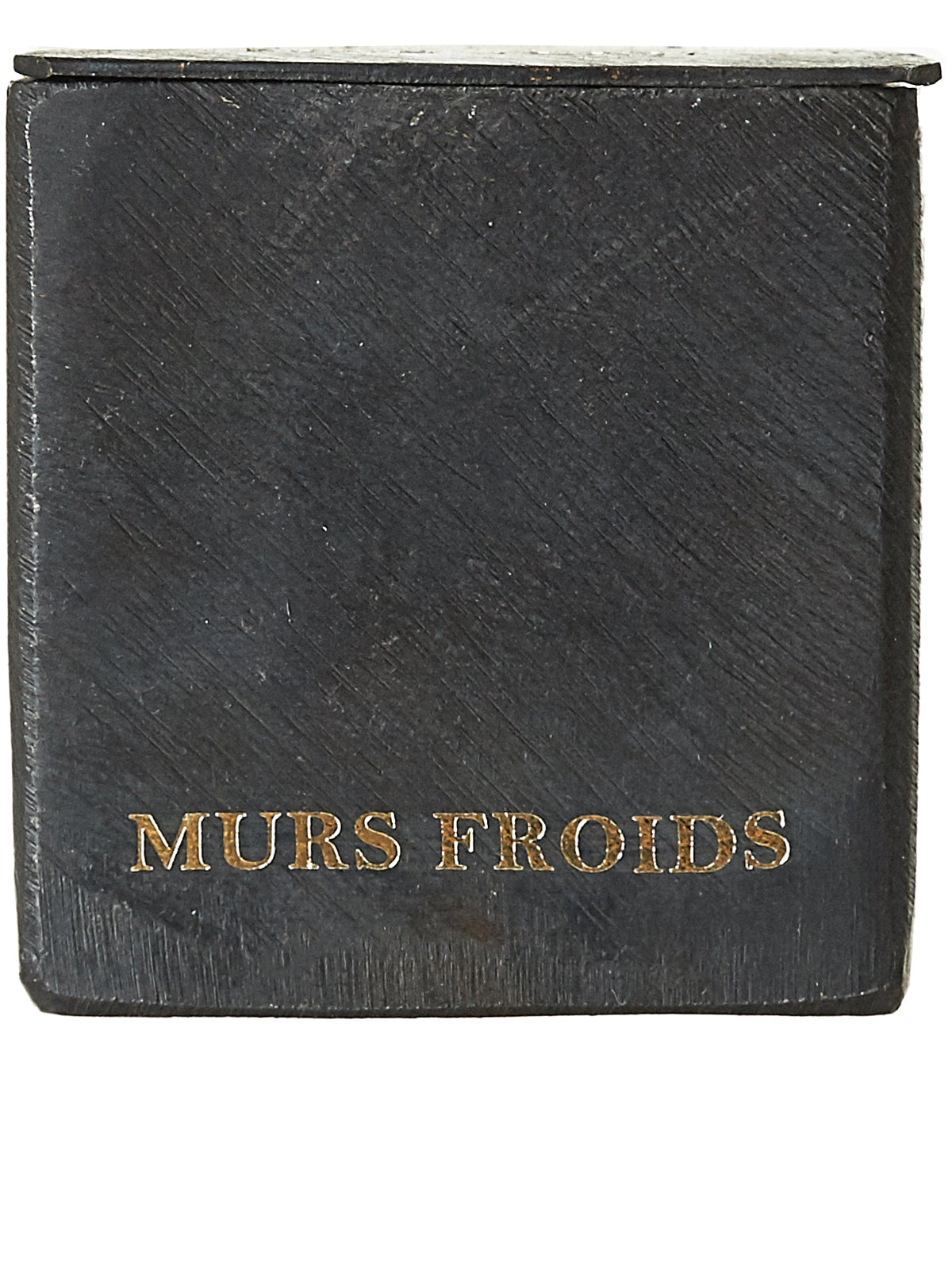 'Murs Froid' Short Block Candle (ML-BCMN-MF-MURS-FROID-5X5)