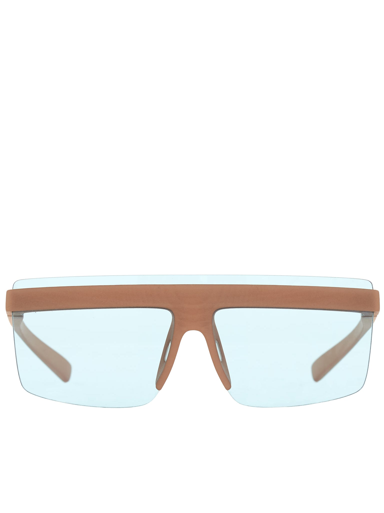 AZ Shield Shades (MMCIRCLE002-MD28-NUDE)
