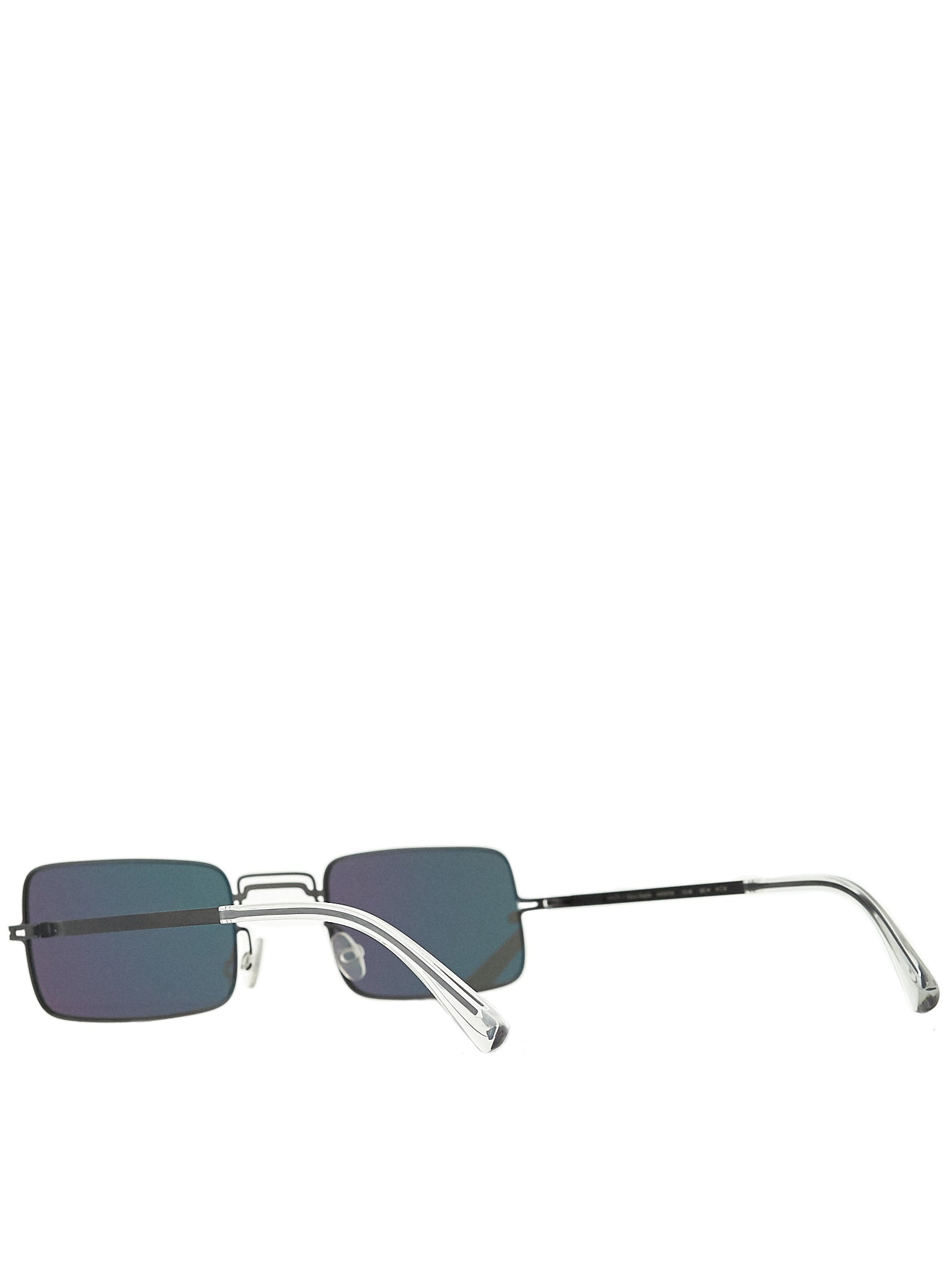 'MMCRAFT003' Square Frame Sunglasses (MMCRAFT003-BLACK-DARKGREY)