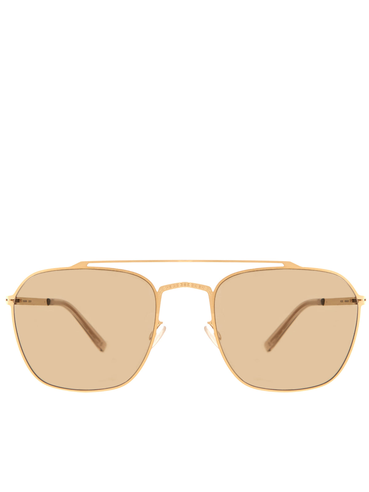 'MMCRAFT006' Sunglasses (MMCRAFT006-GLOSSYGOLD-BROWN)