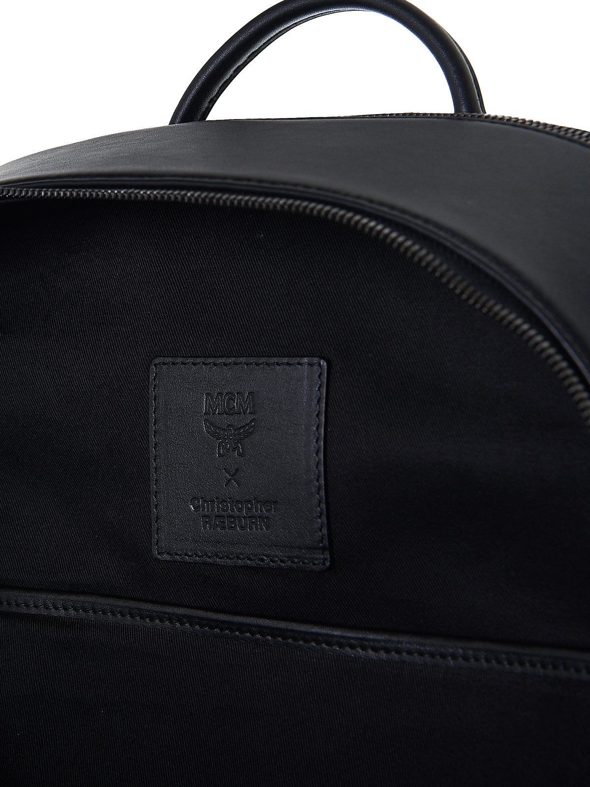 Leather Backpack (MMK7SOC05-BLACK) - H. Lorenzo