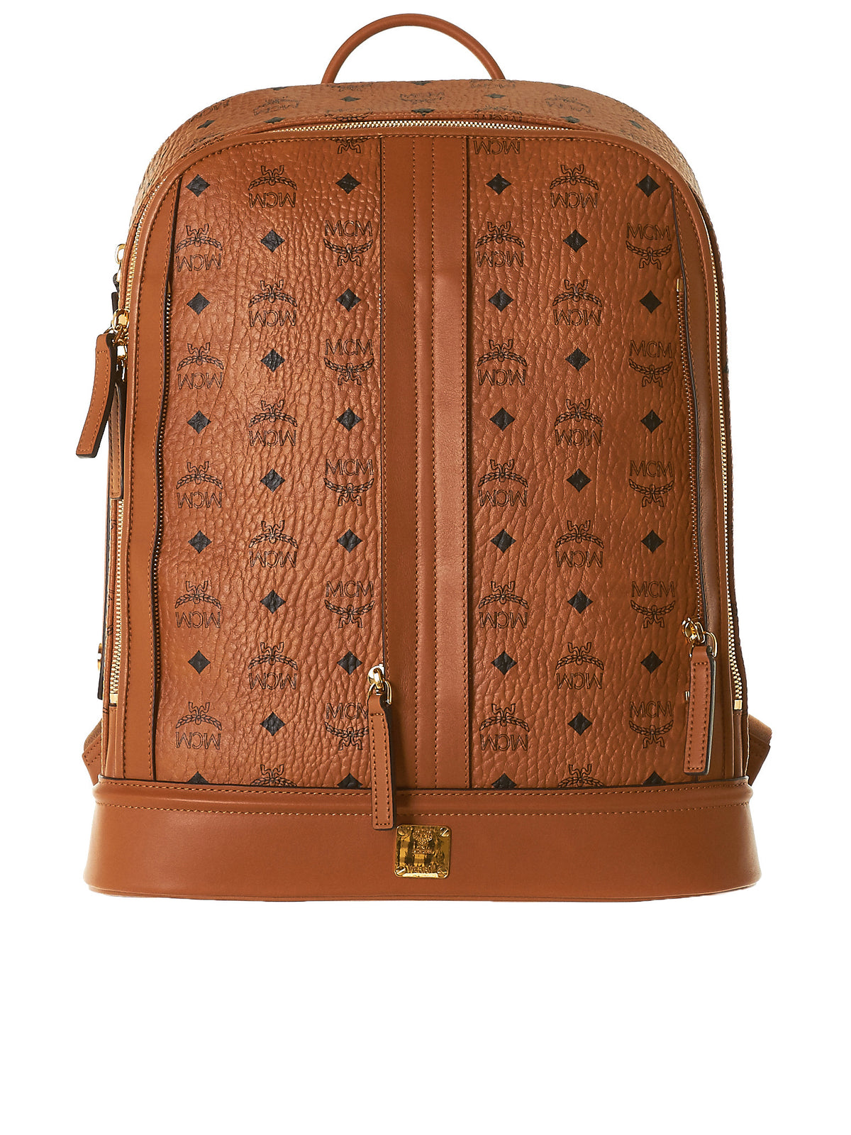 MCM Leather Backpack (MMKTSOC14-COGNAC) - H. Lorenzo