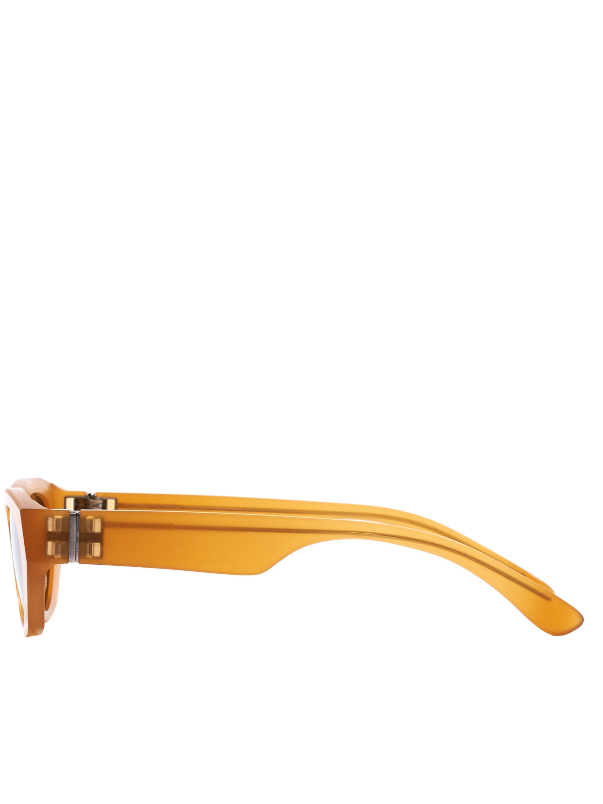 'MMRAW015' Amber Sunglasses (MMRAW015-AMBER-RAWBROWN)