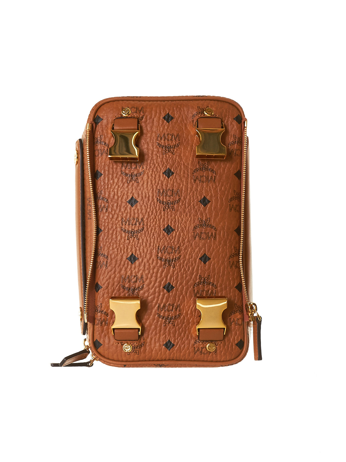 Leather Carrier (MMZ7SOC11-COGNAC) - H. Lorenzo