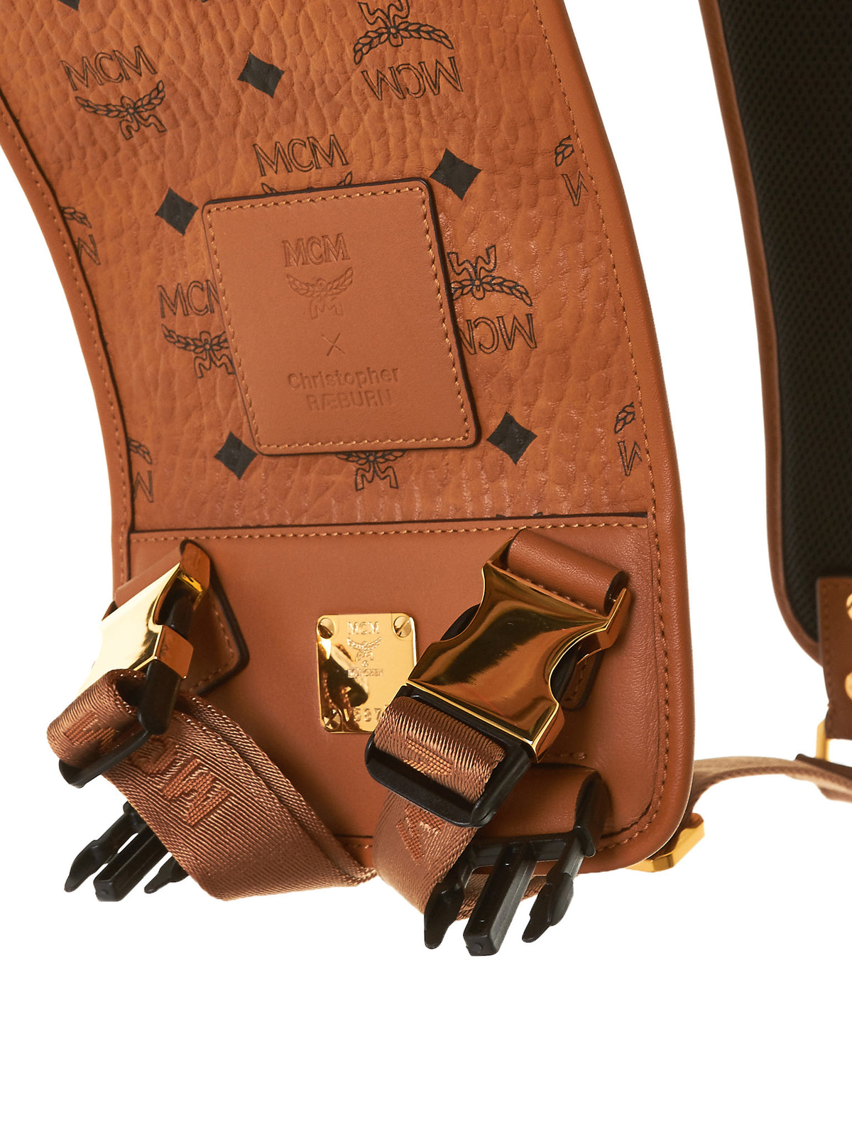 Detachable Leather Bag Straps (MMZTSOC12-COGNAC) - H. Lorenzo