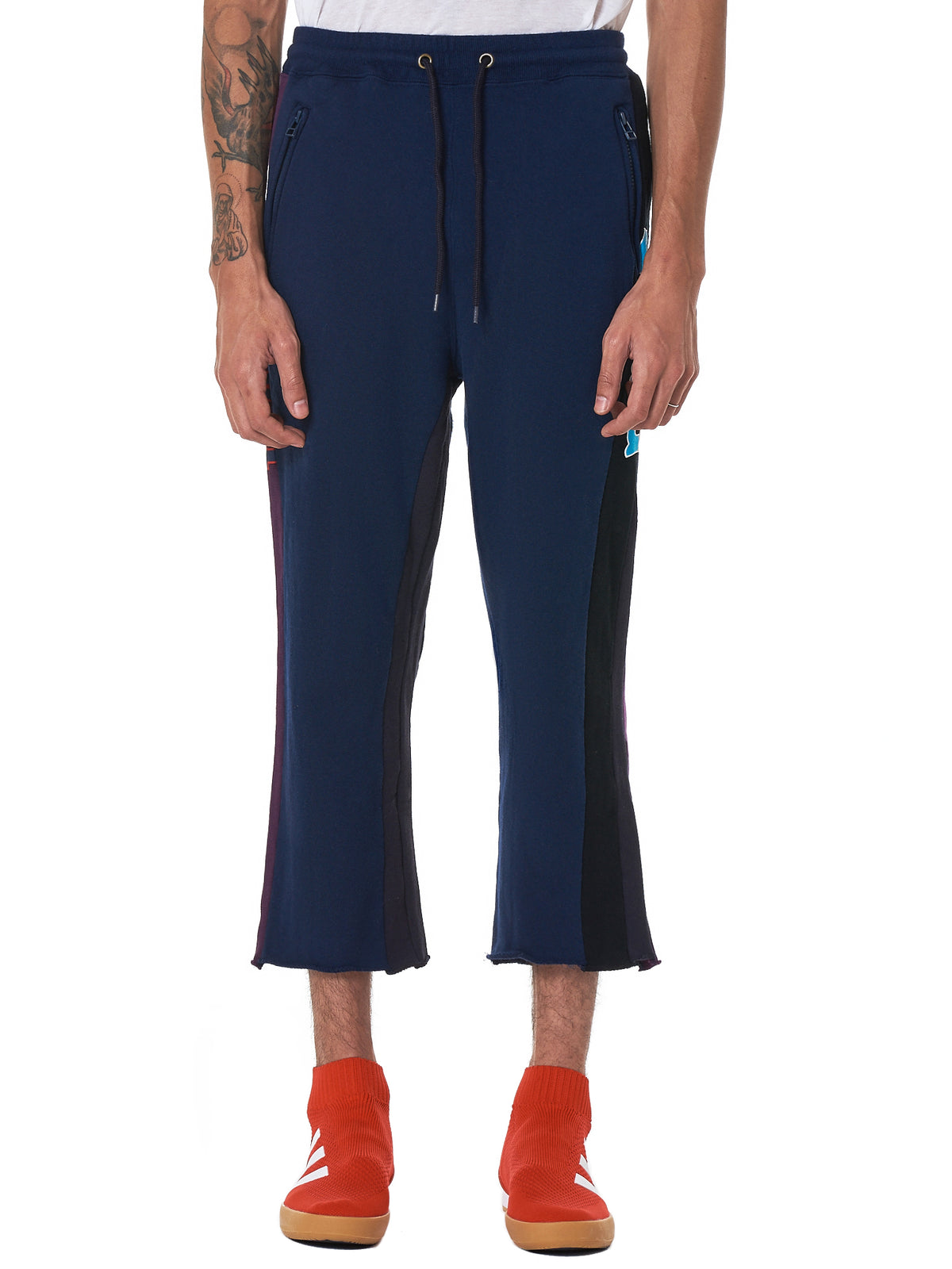 Facetasm Cropped Trousers - Hlorenzo Front