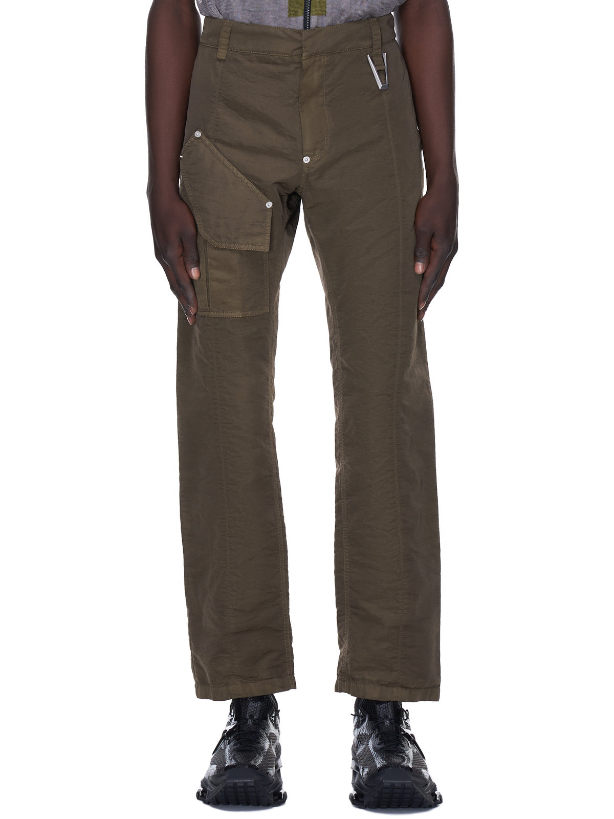 Tapered Cargo Trousers (MPA0163FA01-DARK-OLIVE)