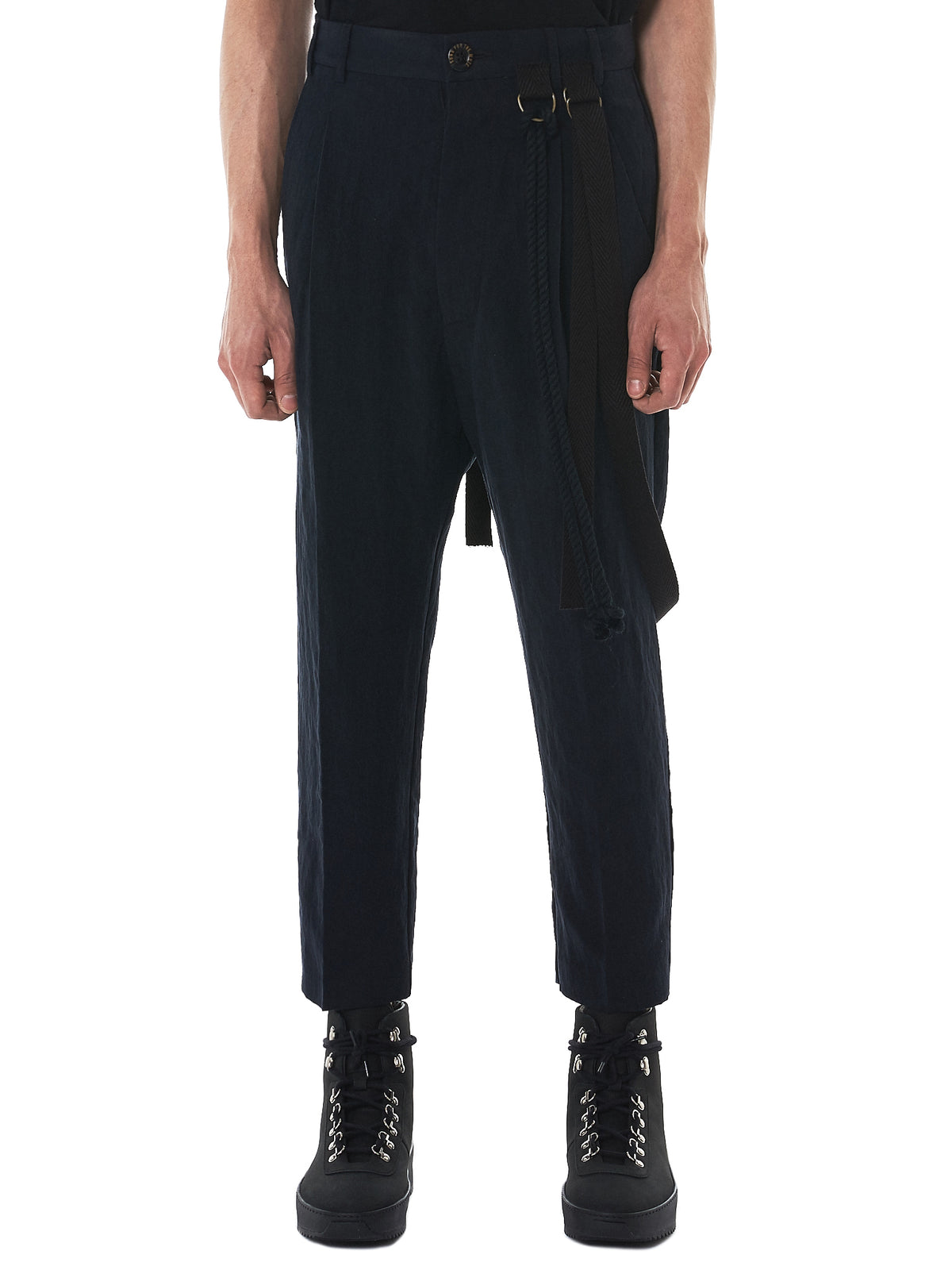Song For The Mute Pleated Pants - Hlorenzo Front