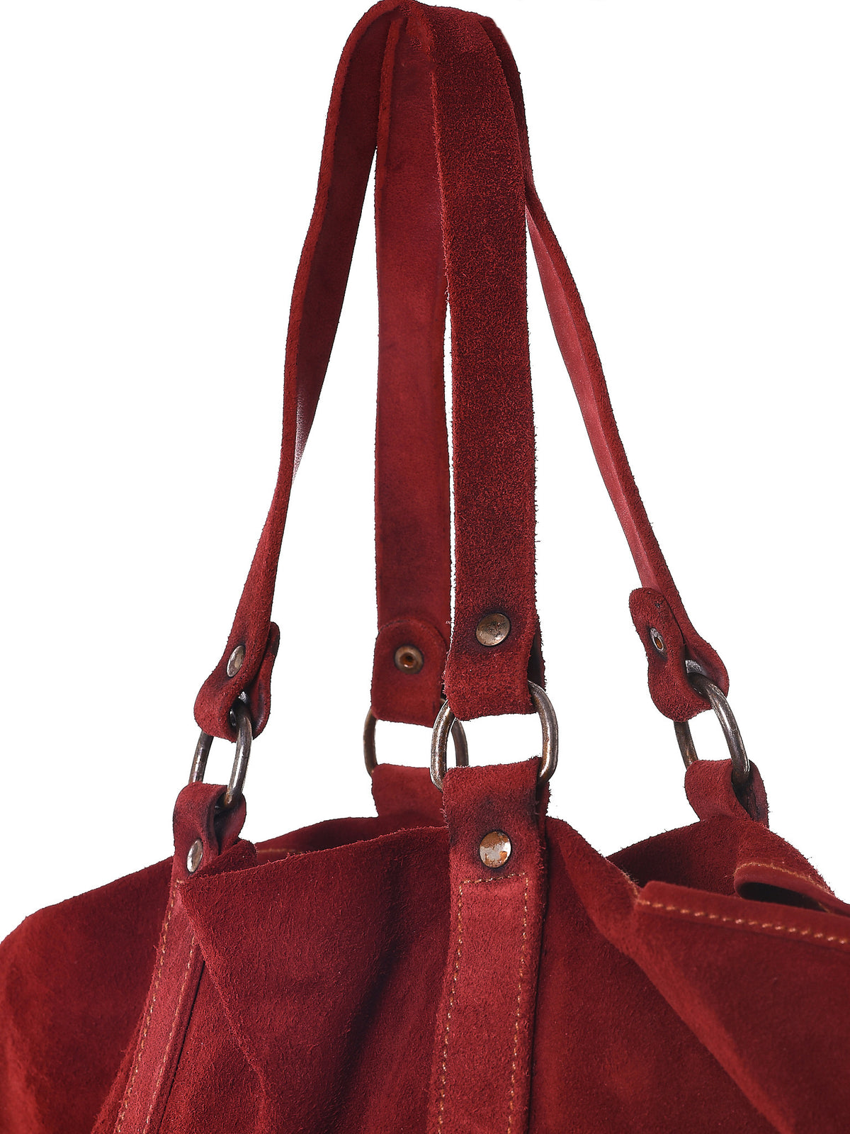 Object-Dyed Leather Tote (MR06-SOFT-HORSE-REVERSE-1006T) - H. Lorenzo