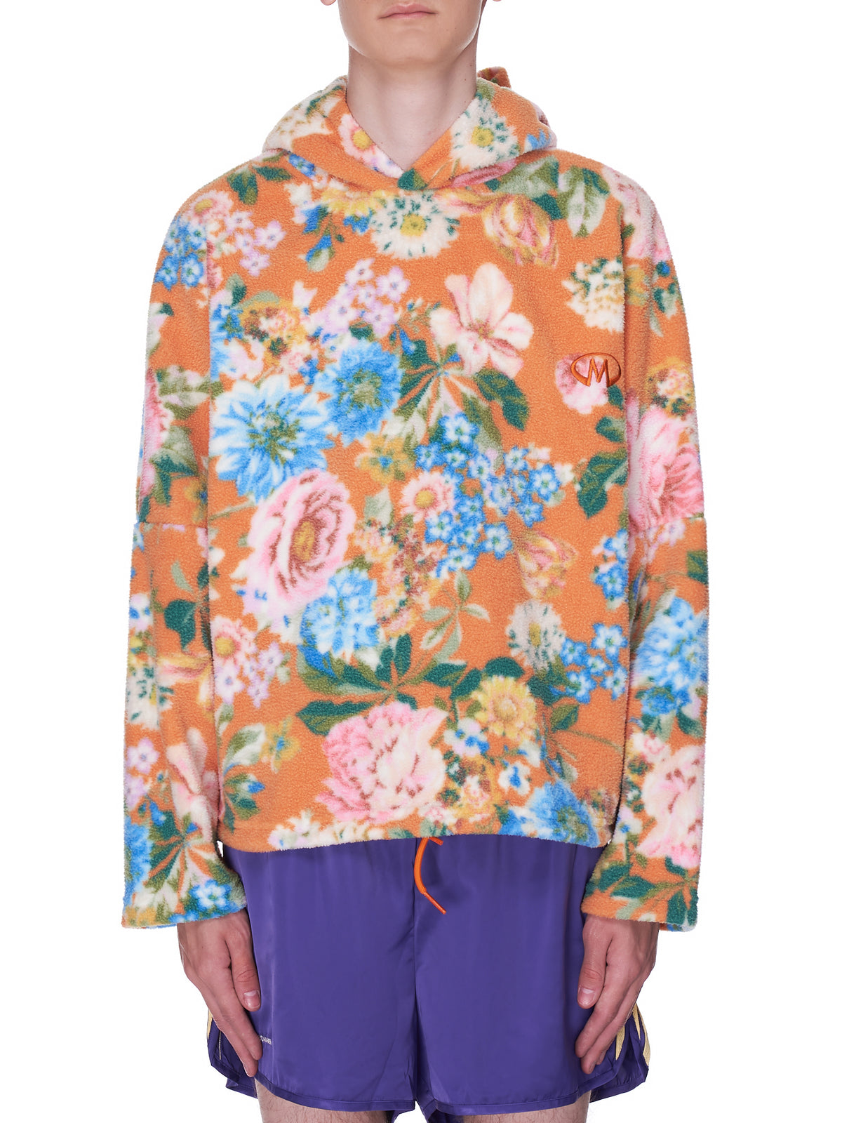 Bongo Fleece (MR123F-ORANGE-PINK-LILAC)