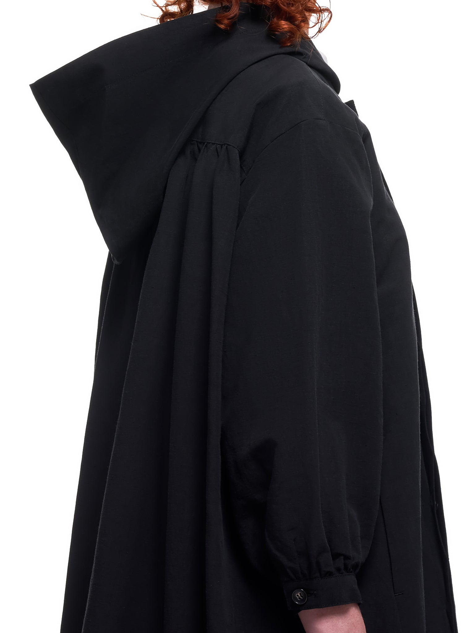 Hooded Coat (MS02-CO-01-BLACK)