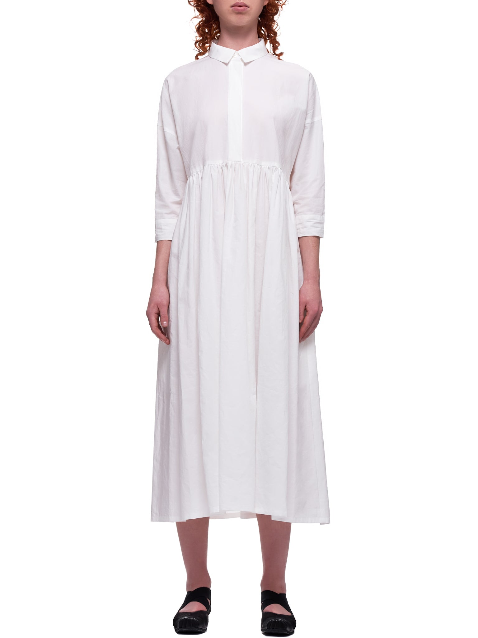 Shirt-Dress (MS02-OP-05-WHITE)