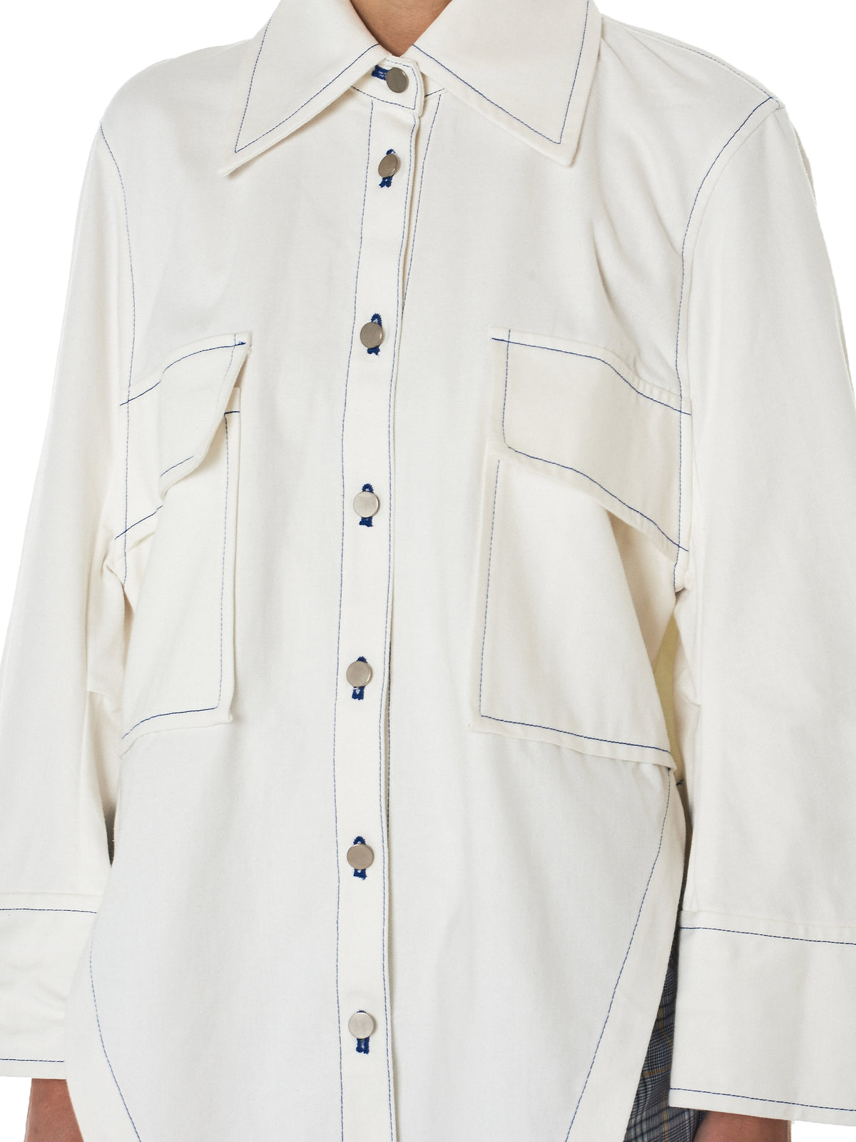mikio sakabe relaxed fit jacket - H.Lorenzo detail 2