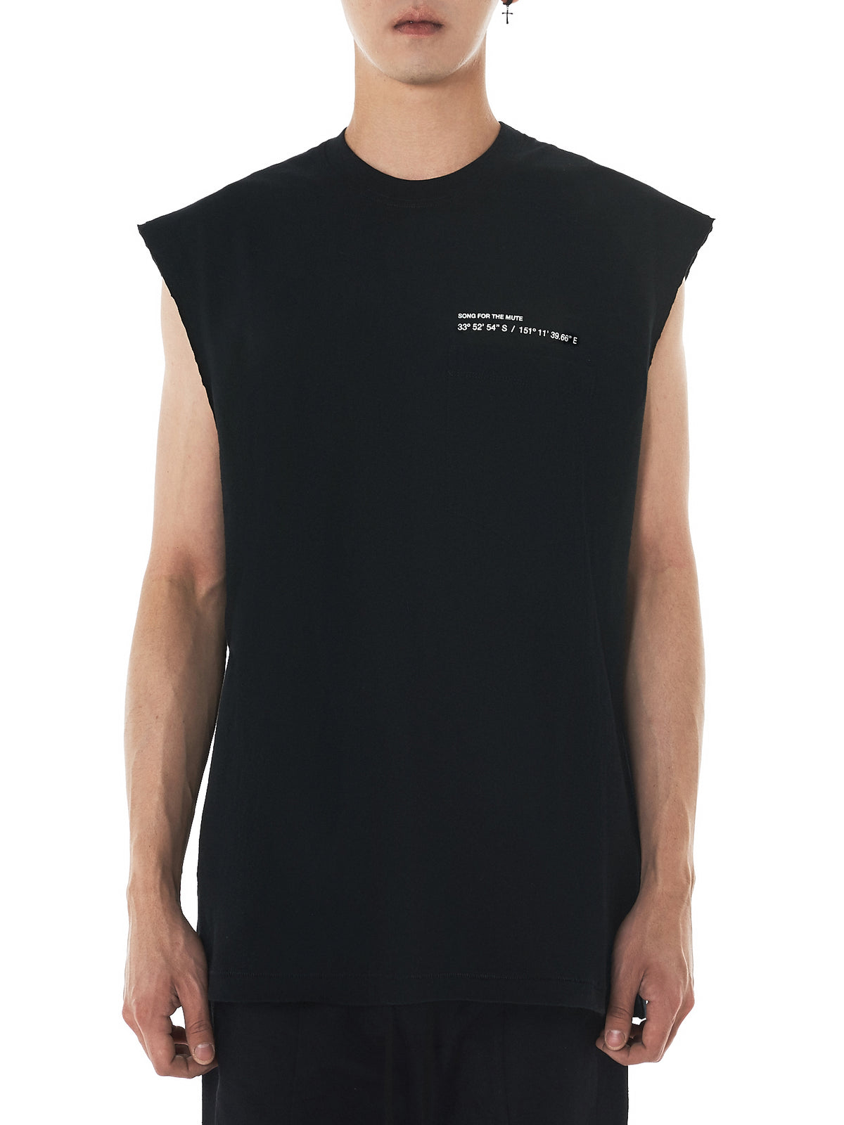 Song For The Mute Sleeveless Tee - Hlorenzo Front