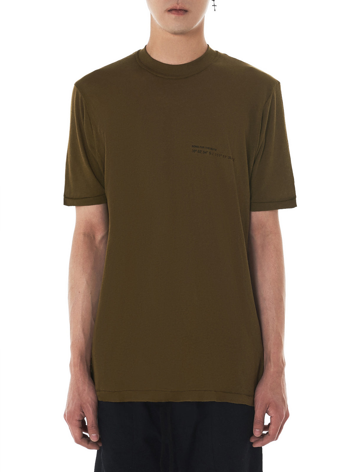 Song For The Mute Slim Tee - Hlorenzo Front ...