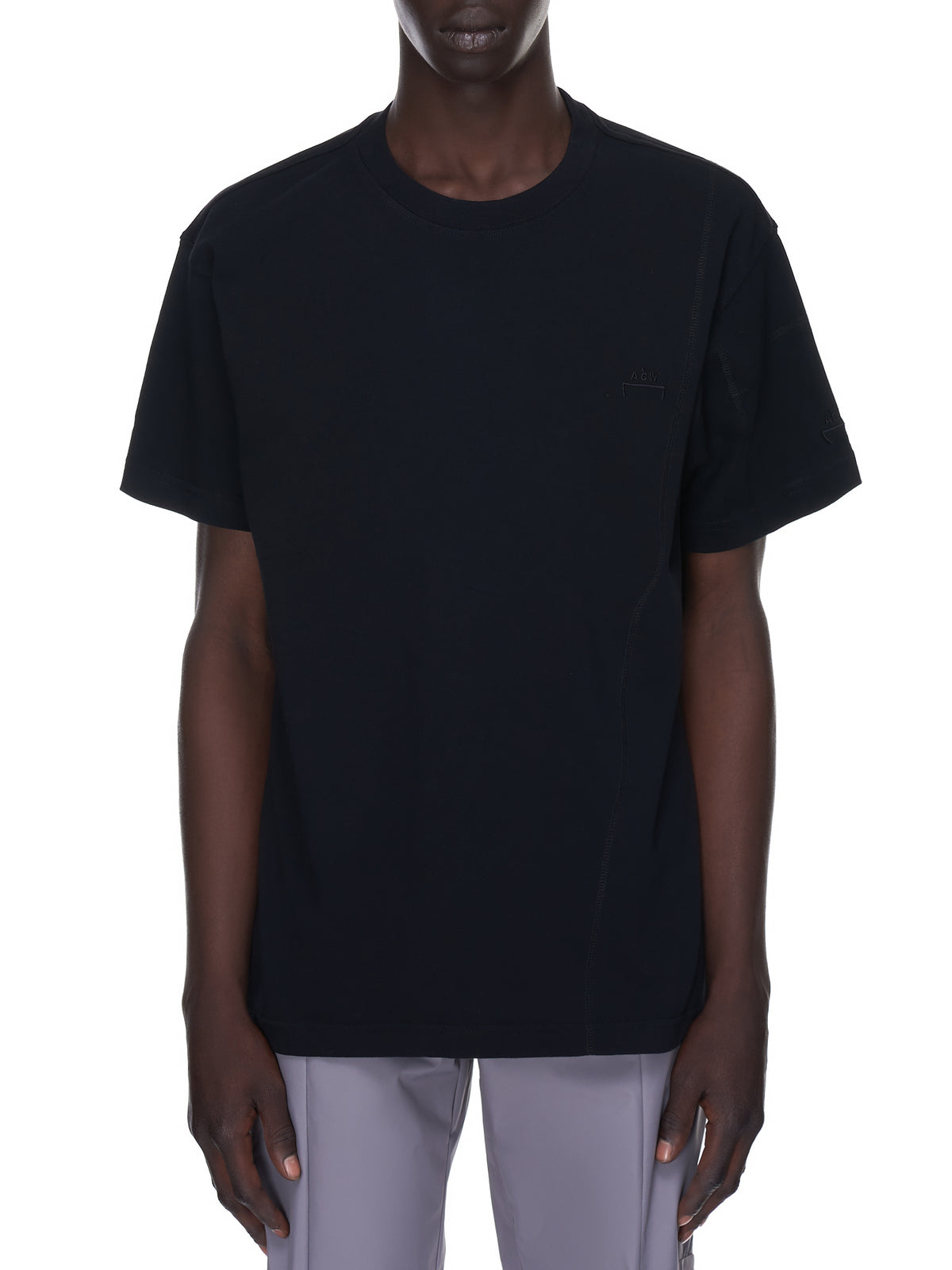 Overlock Basic Tee (MTS029-BLACK)
