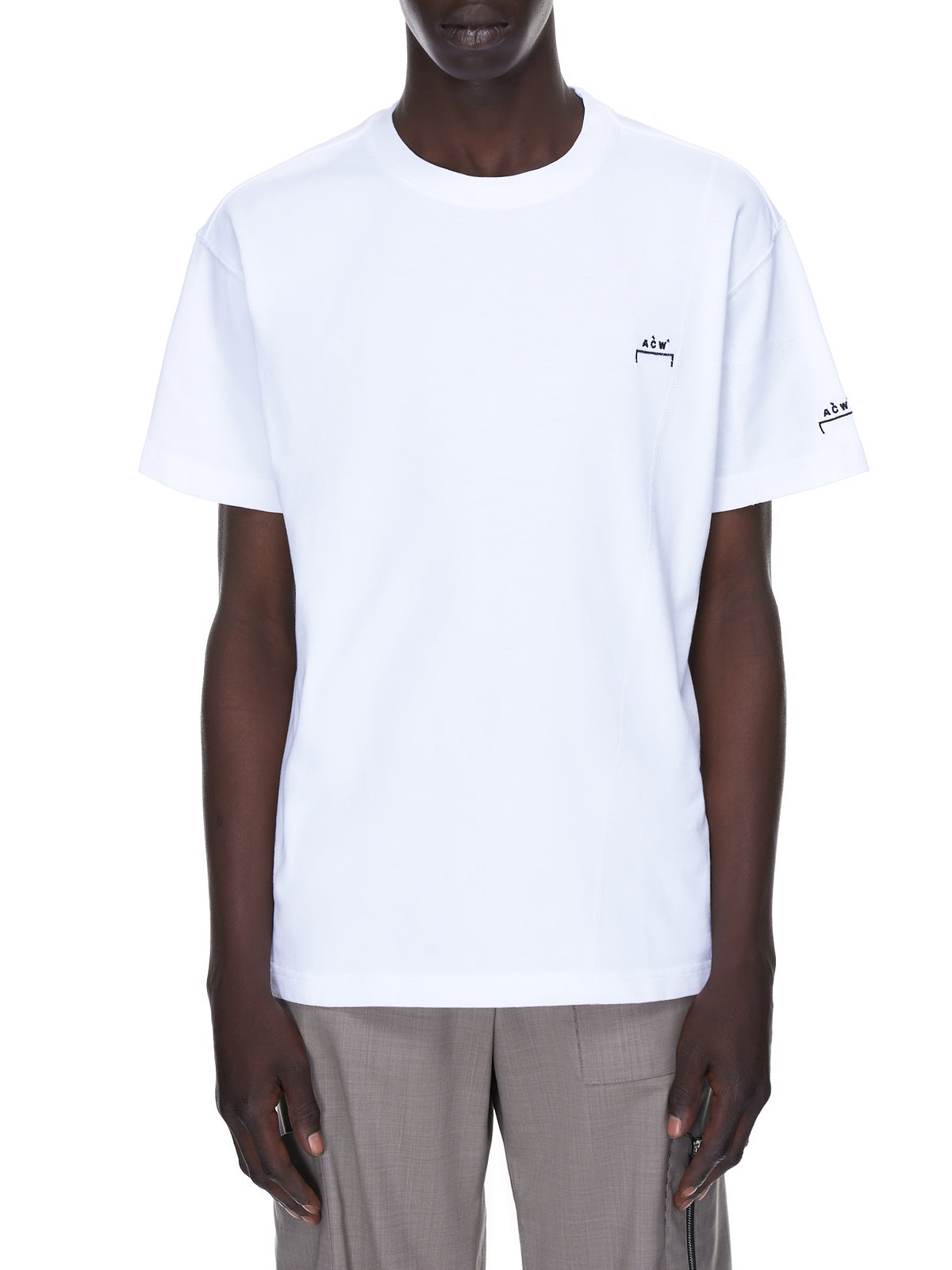 Overlock Basic Tee (MTS029-WHITE)