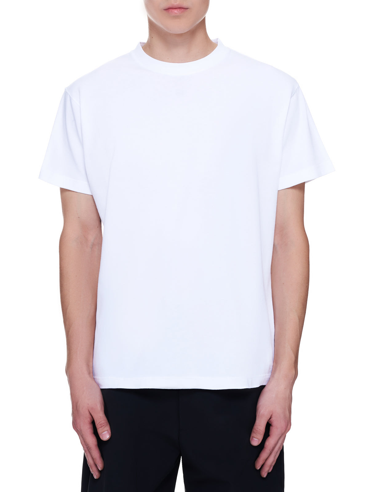 Rear Graphic Printed T-Shirt (MTS039-WHITE)
